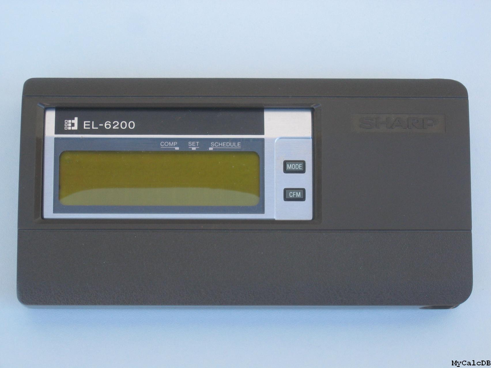 Sharp EL-6200