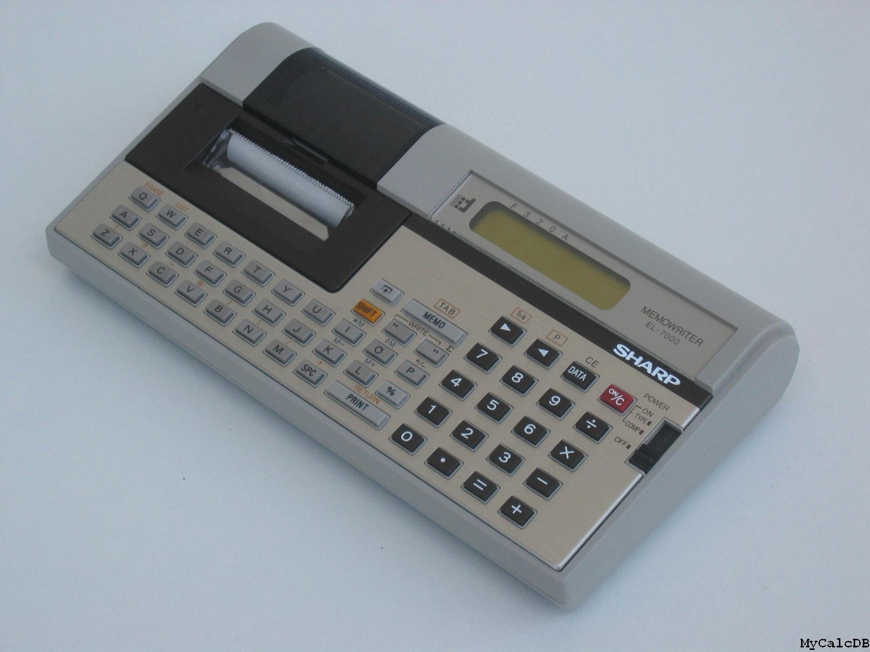 Sharp EL-7000