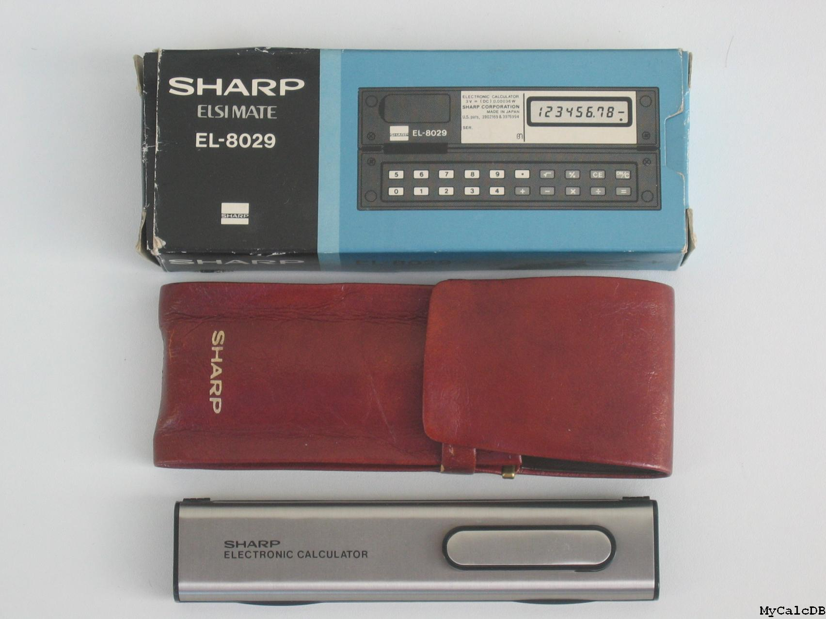 Sharp EL-8029