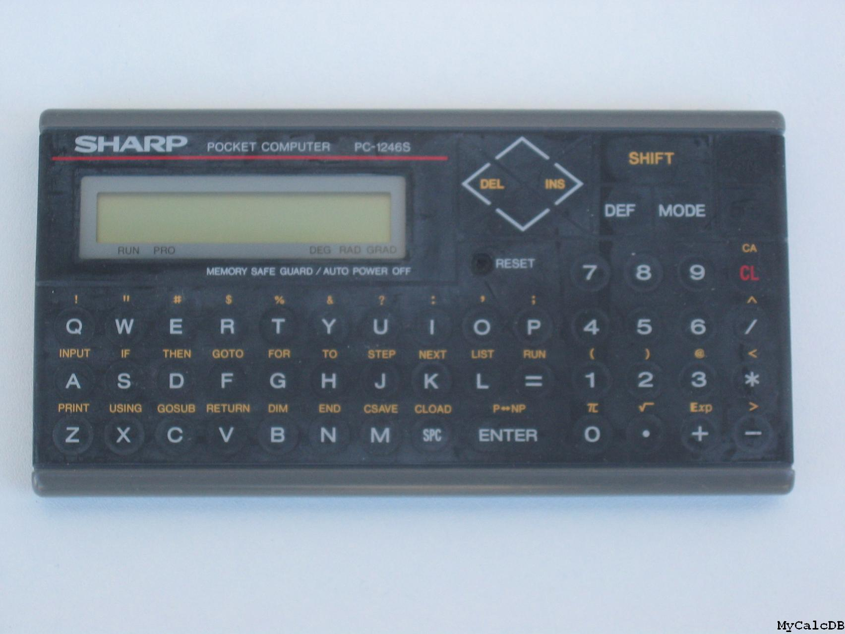 Sharp PC-1246S