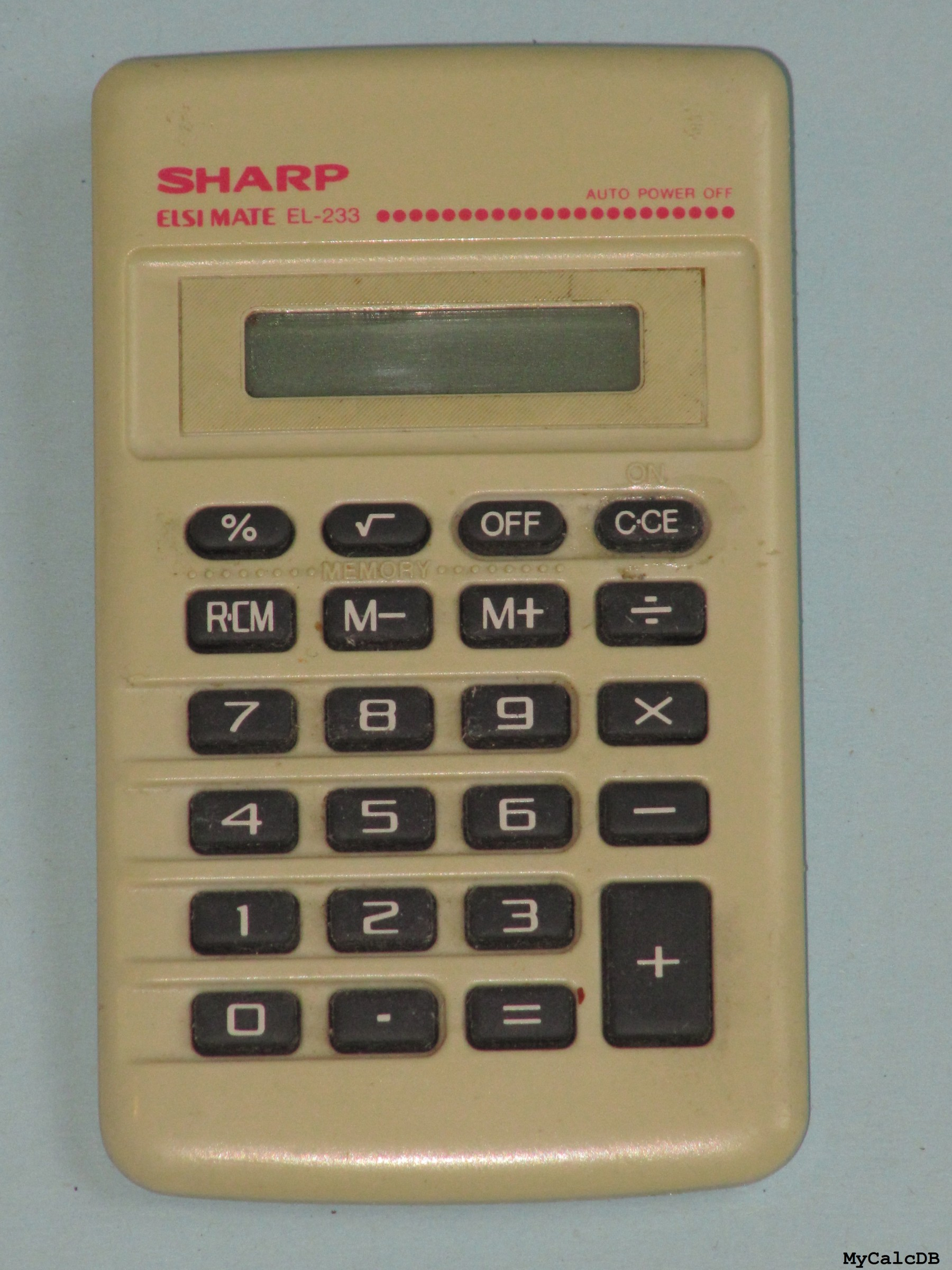 Sharp EL-233