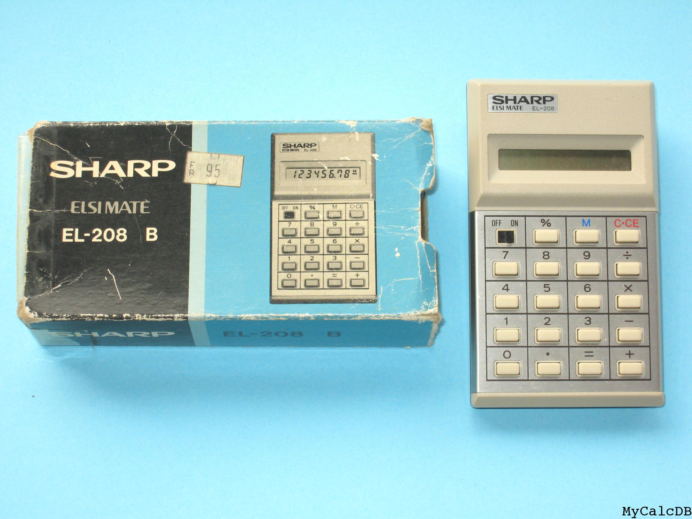 Sharp EL-208