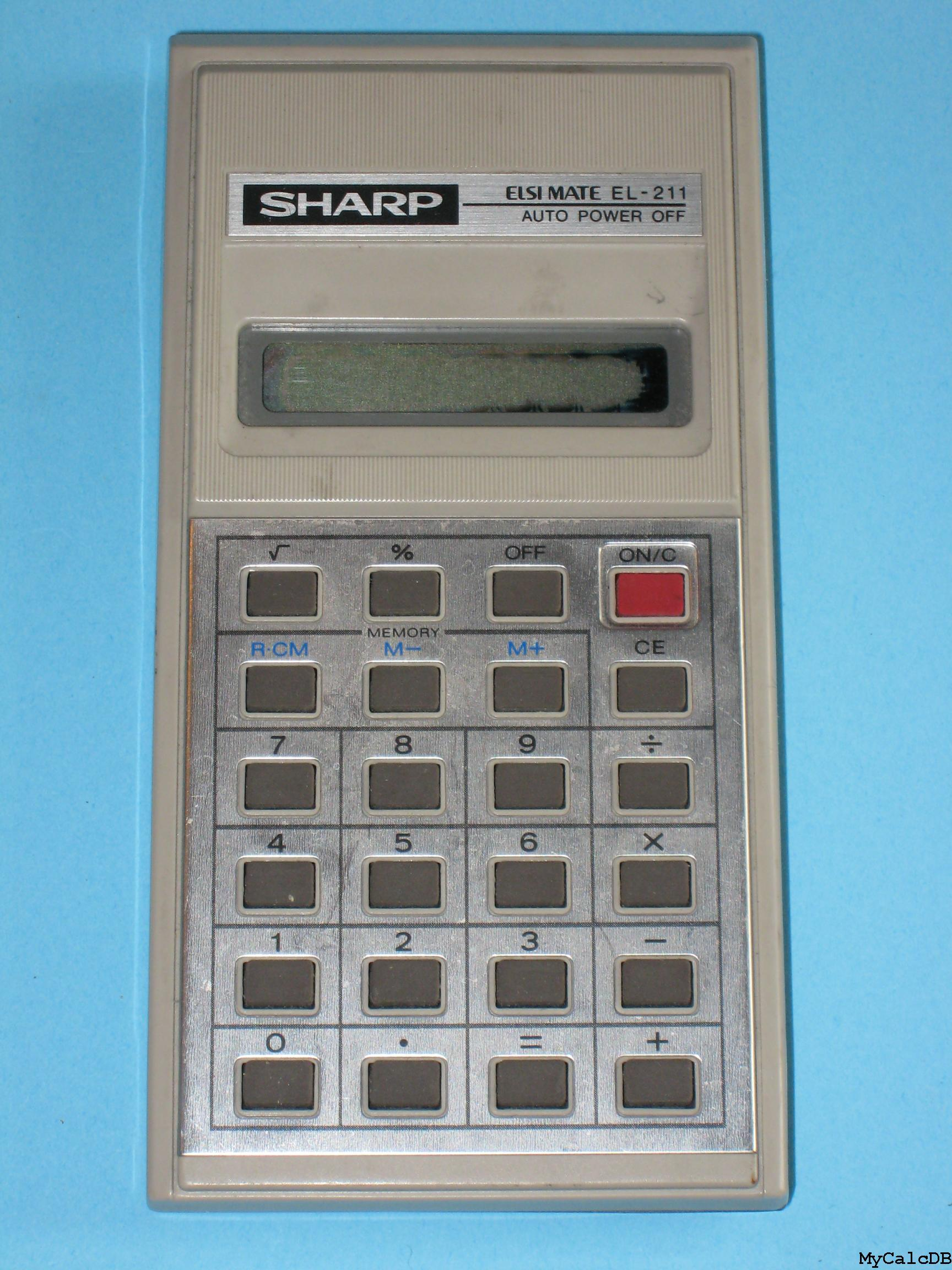 Sharp EL-211