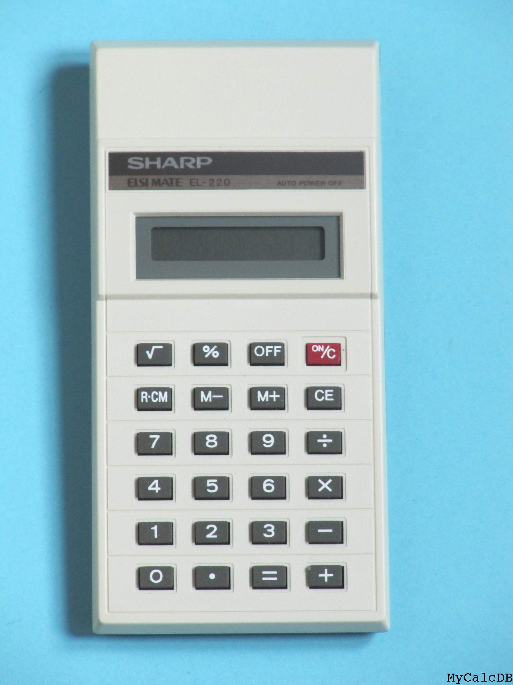 Sharp EL-220