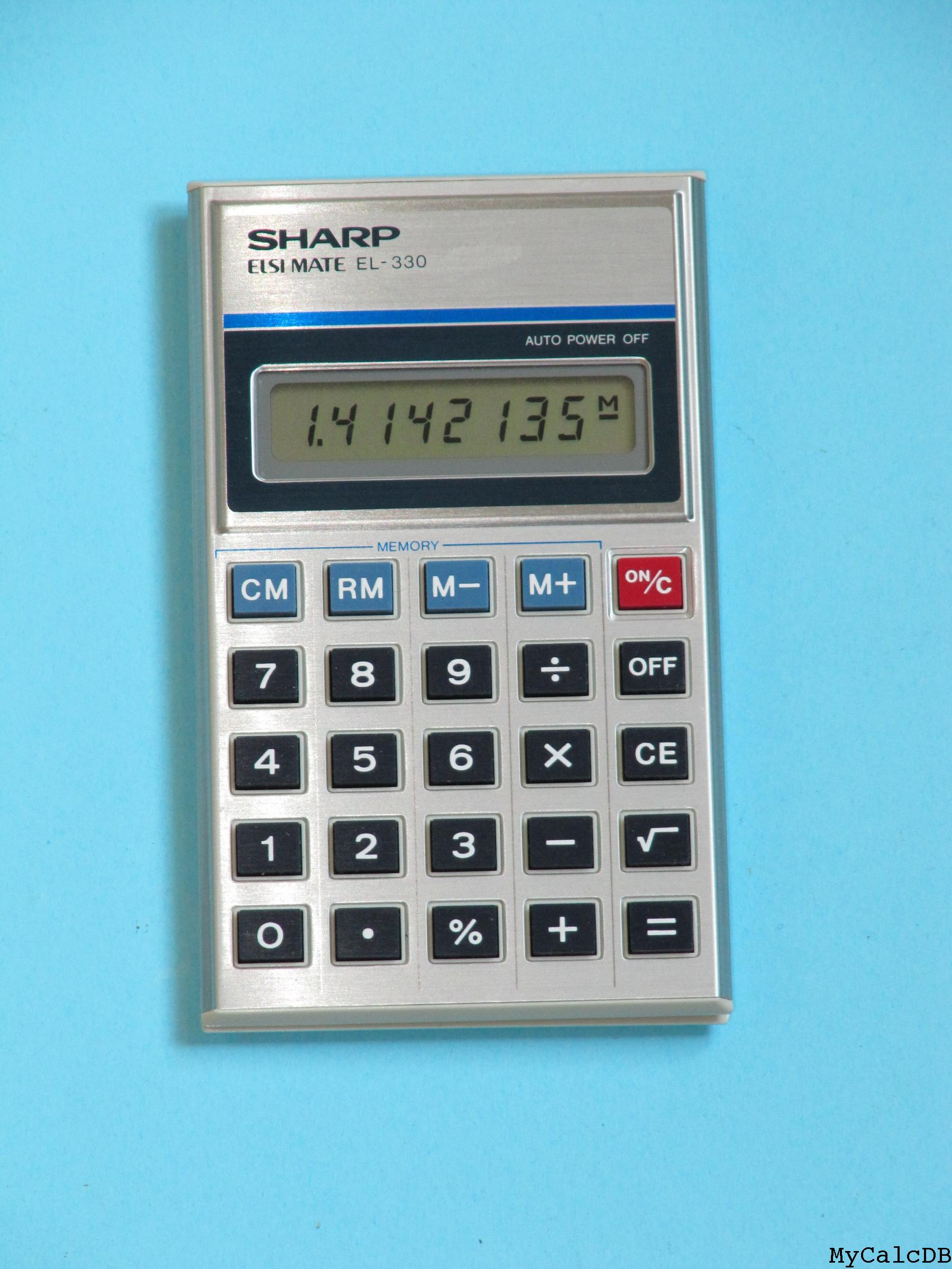 Sharp EL-330