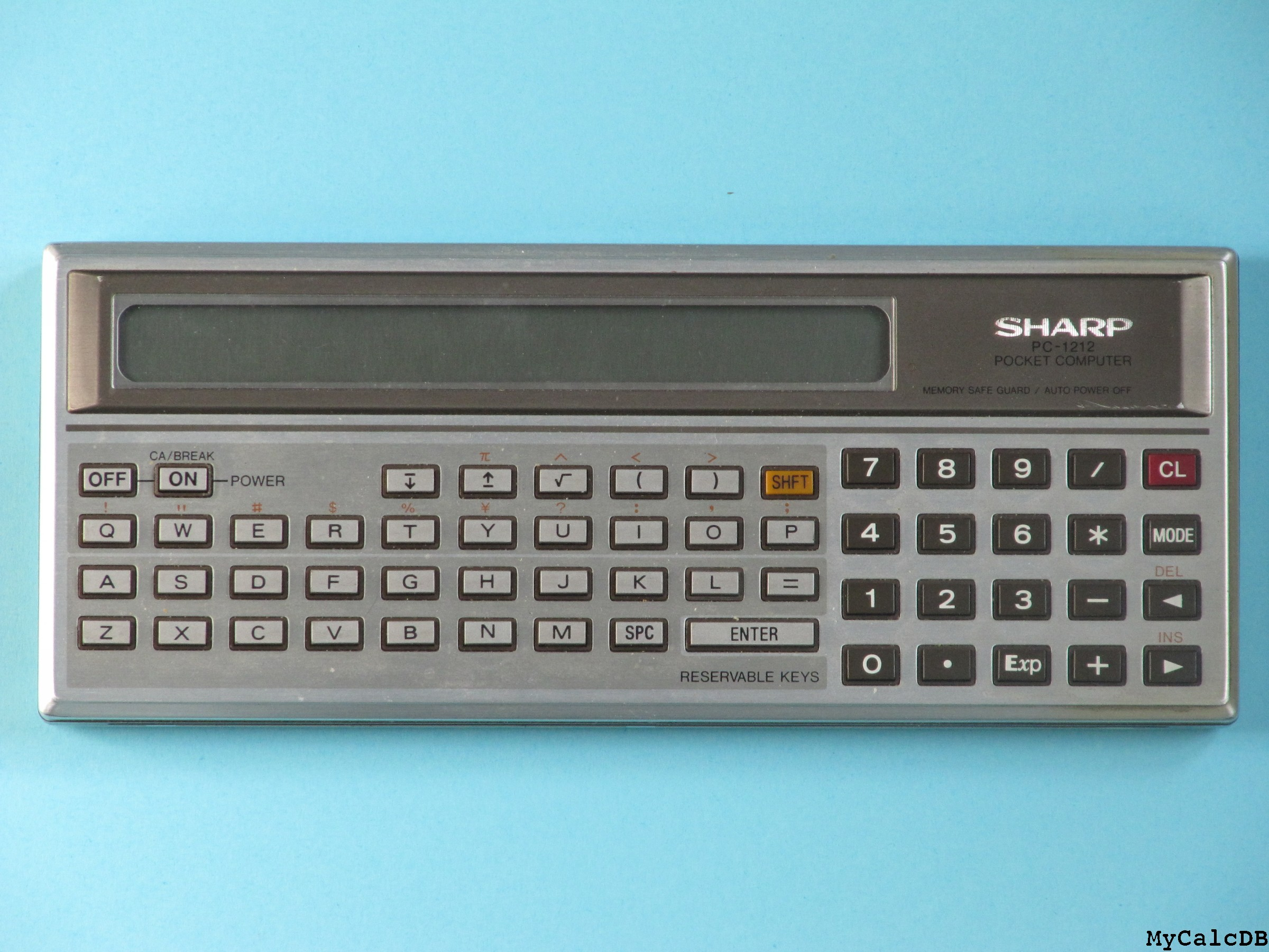 Sharp PC-1212