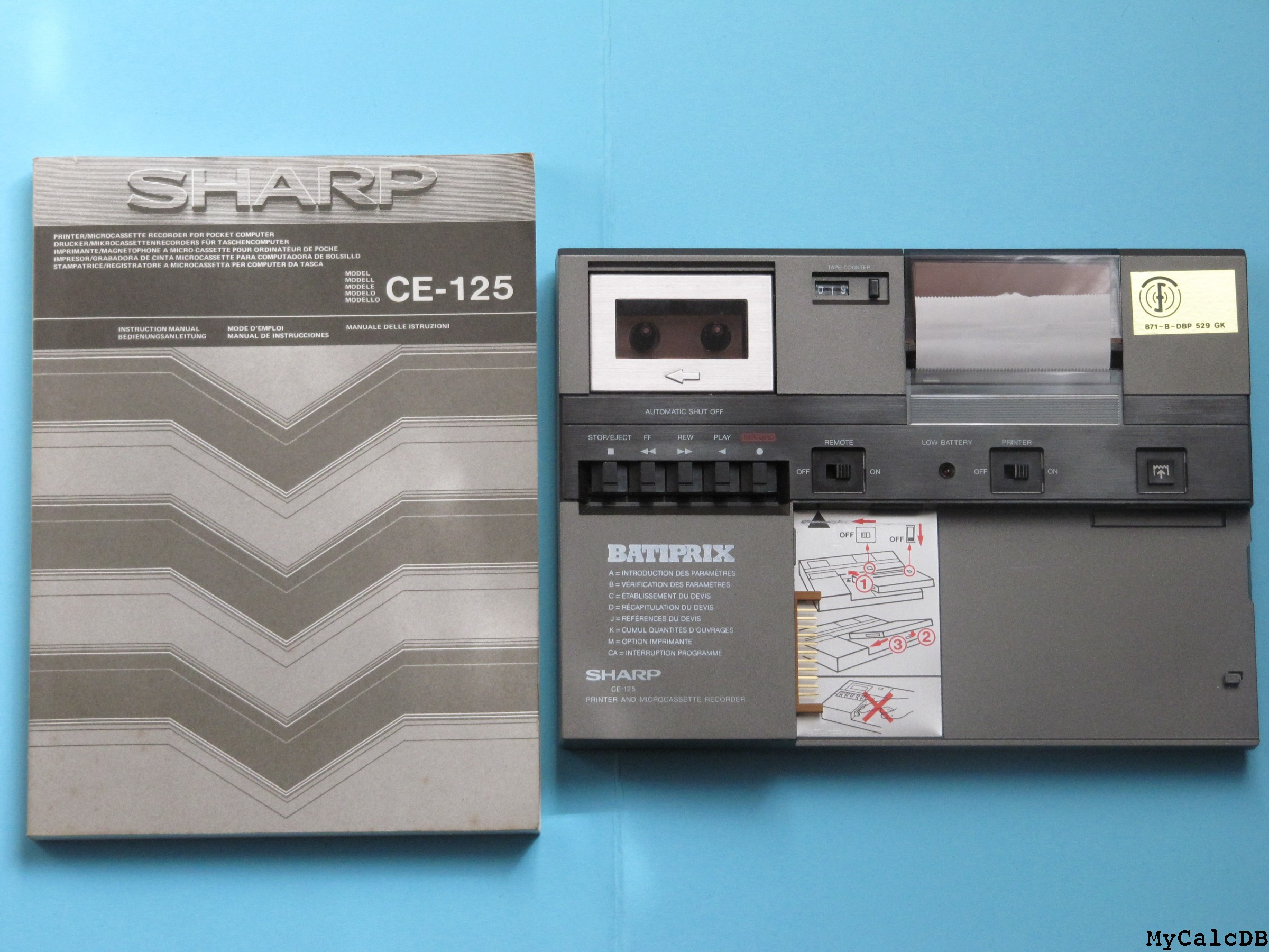 Sharp PC-1253