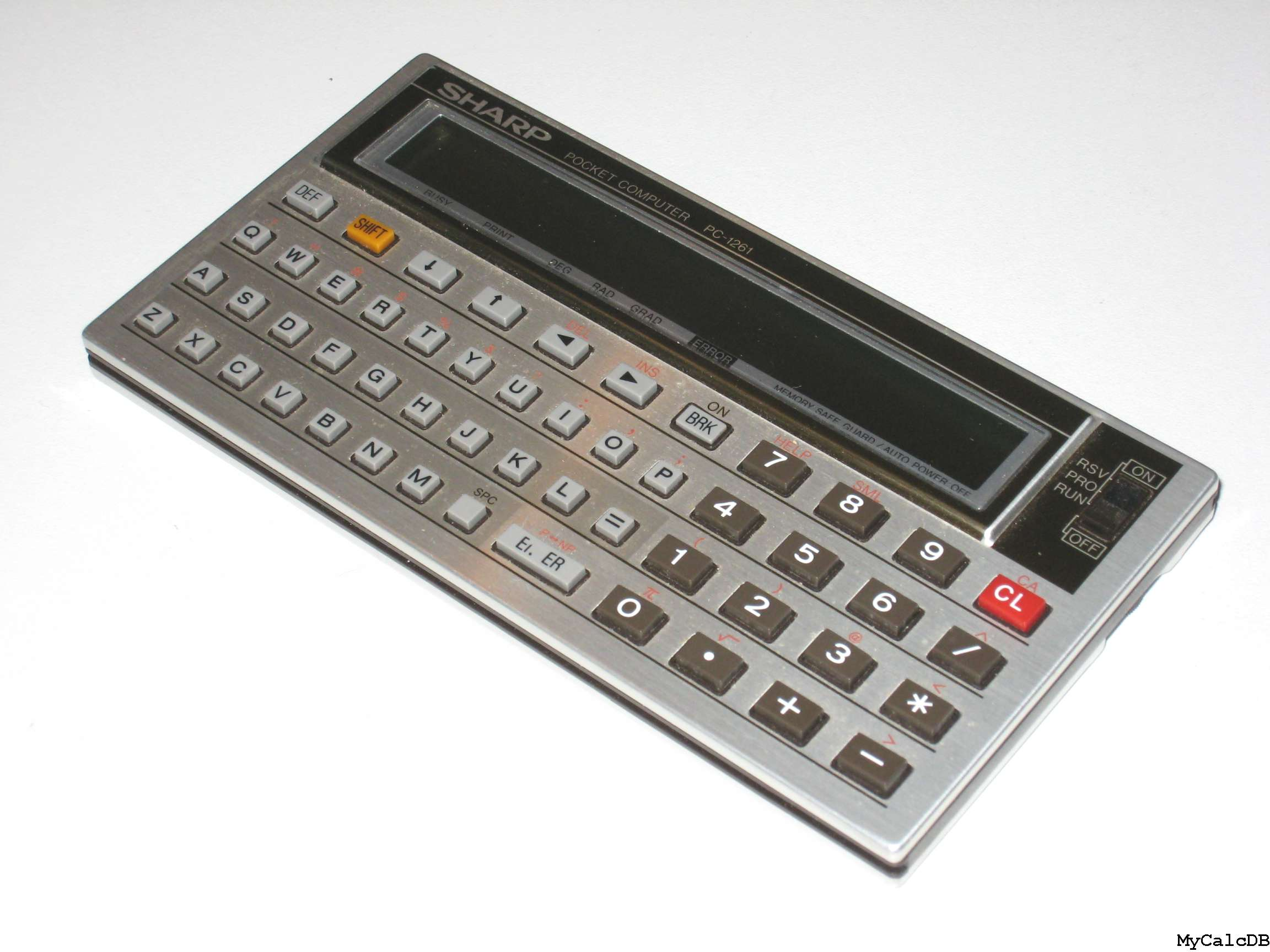 Sharp PC-1261