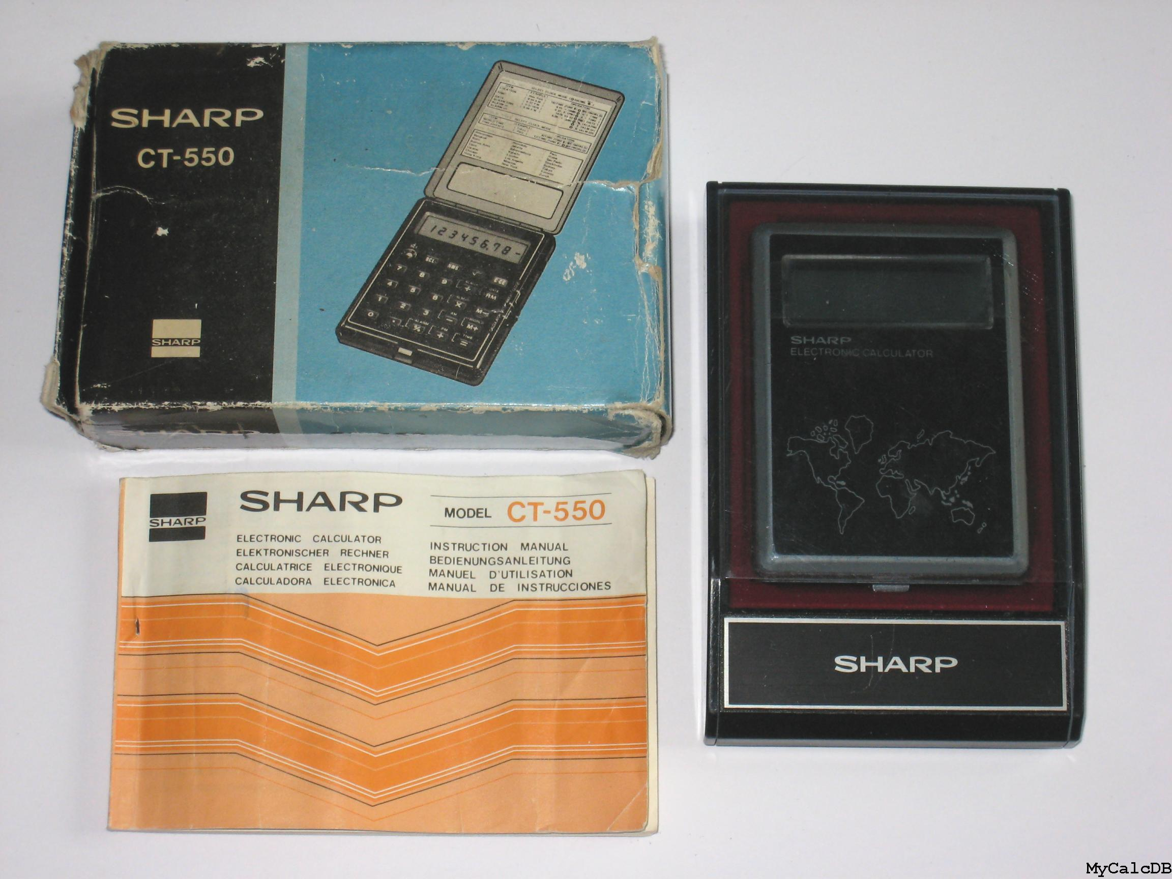 Sharp CT-550