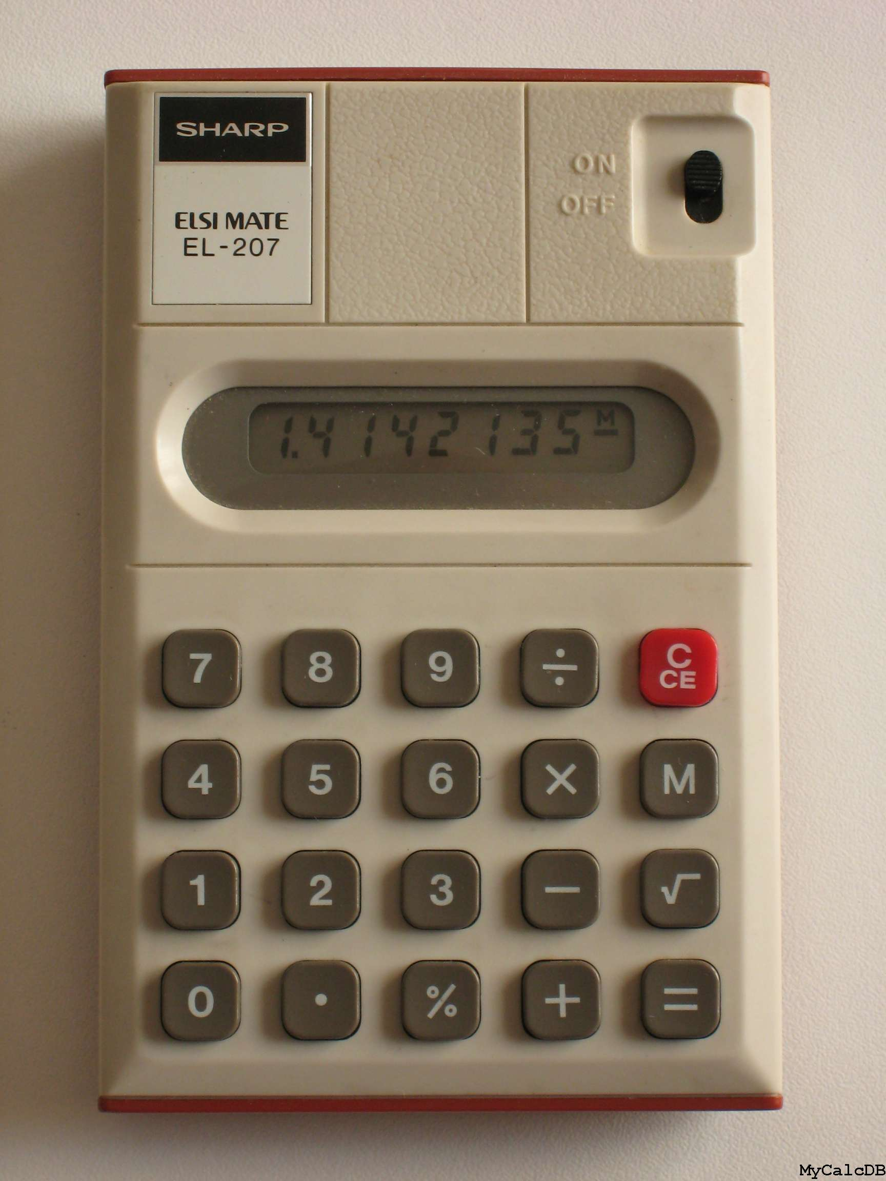 Sharp EL-207