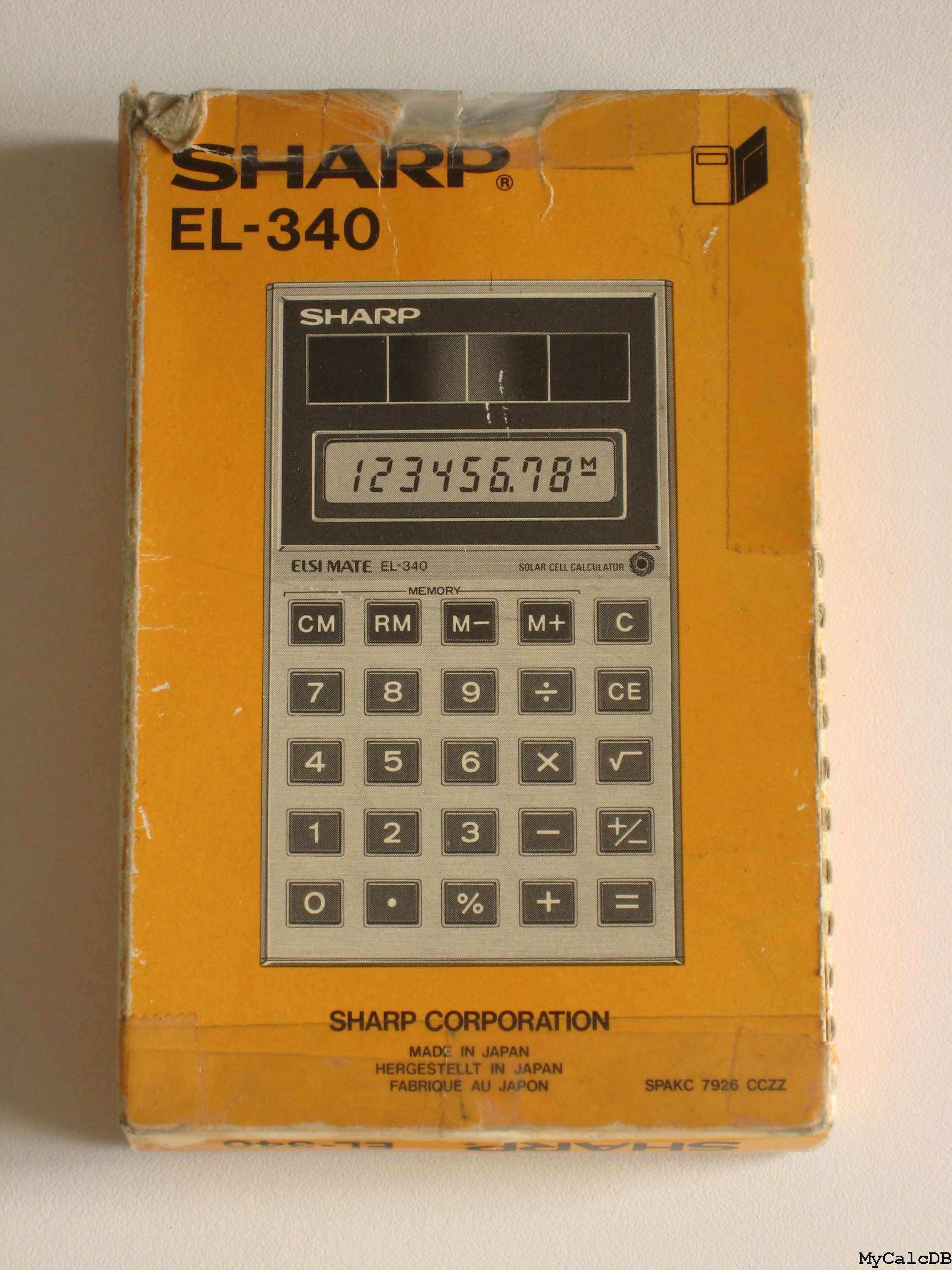Sharp EL-340
