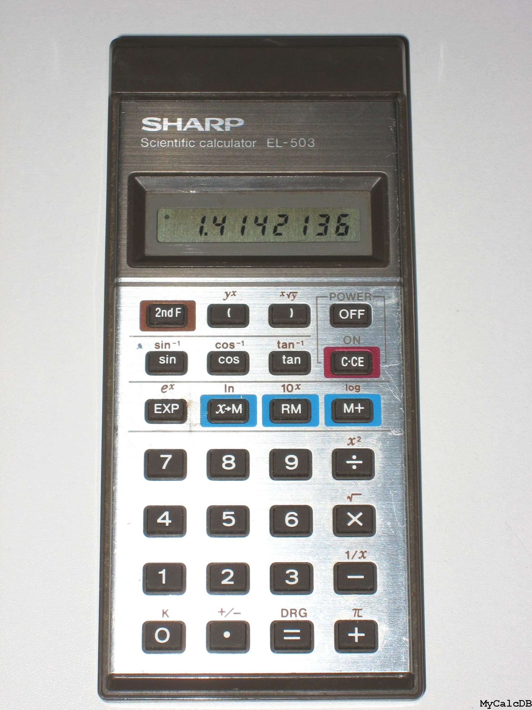Sharp EL-503