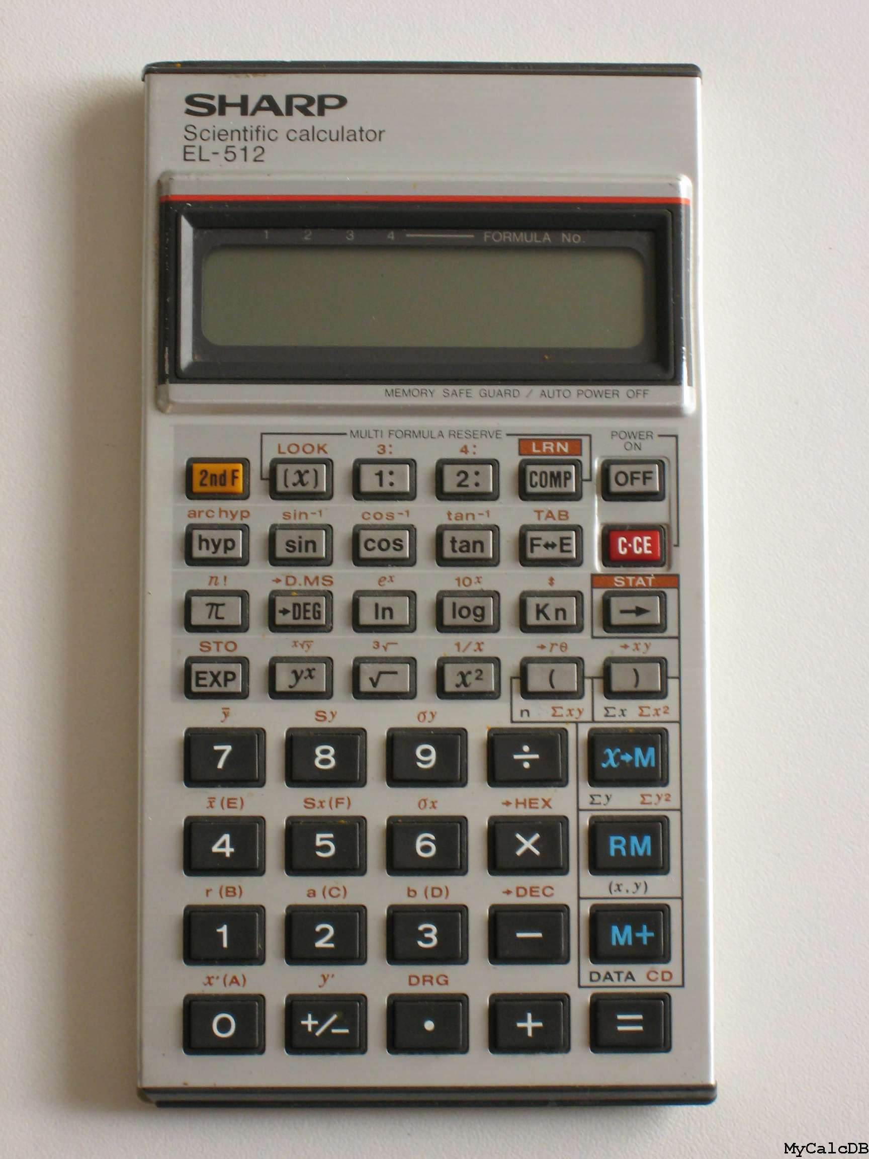 Sharp EL-512