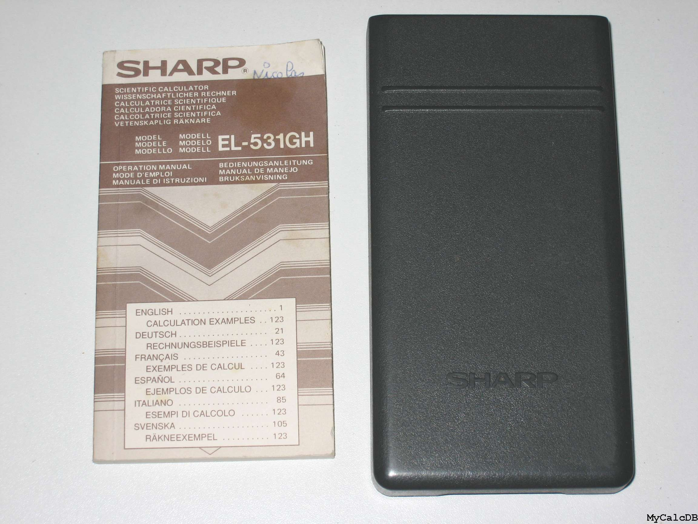 Sharp EL-531GH