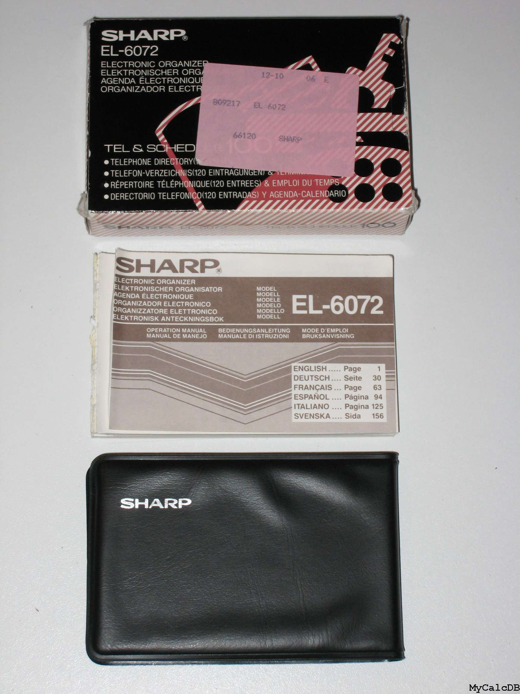 Sharp EL-6072