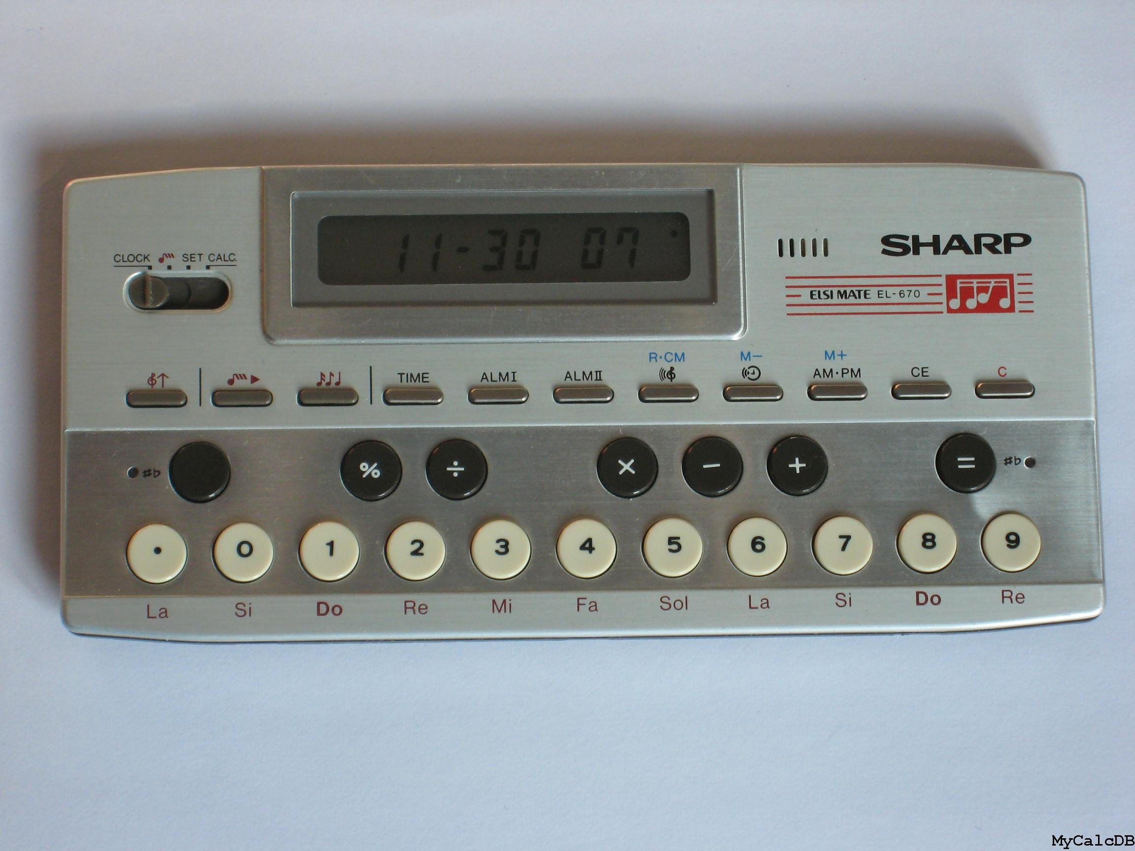 Sharp EL-670