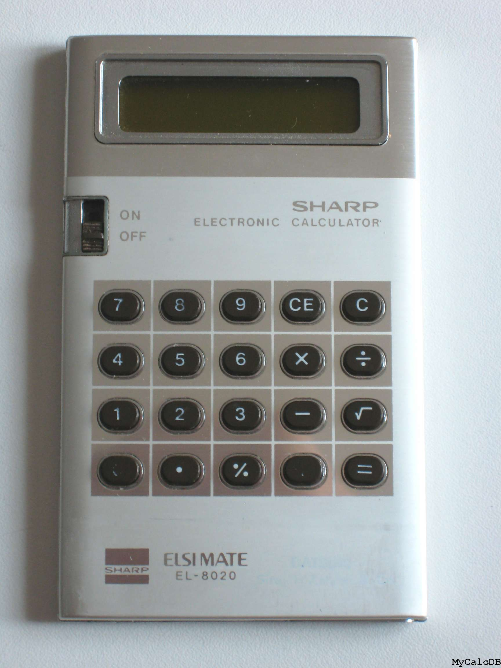 Sharp EL-8020
