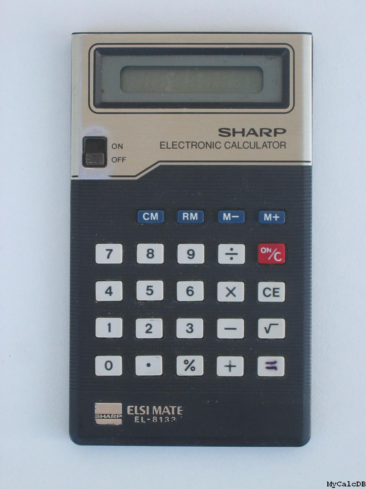 Sharp EL-8133