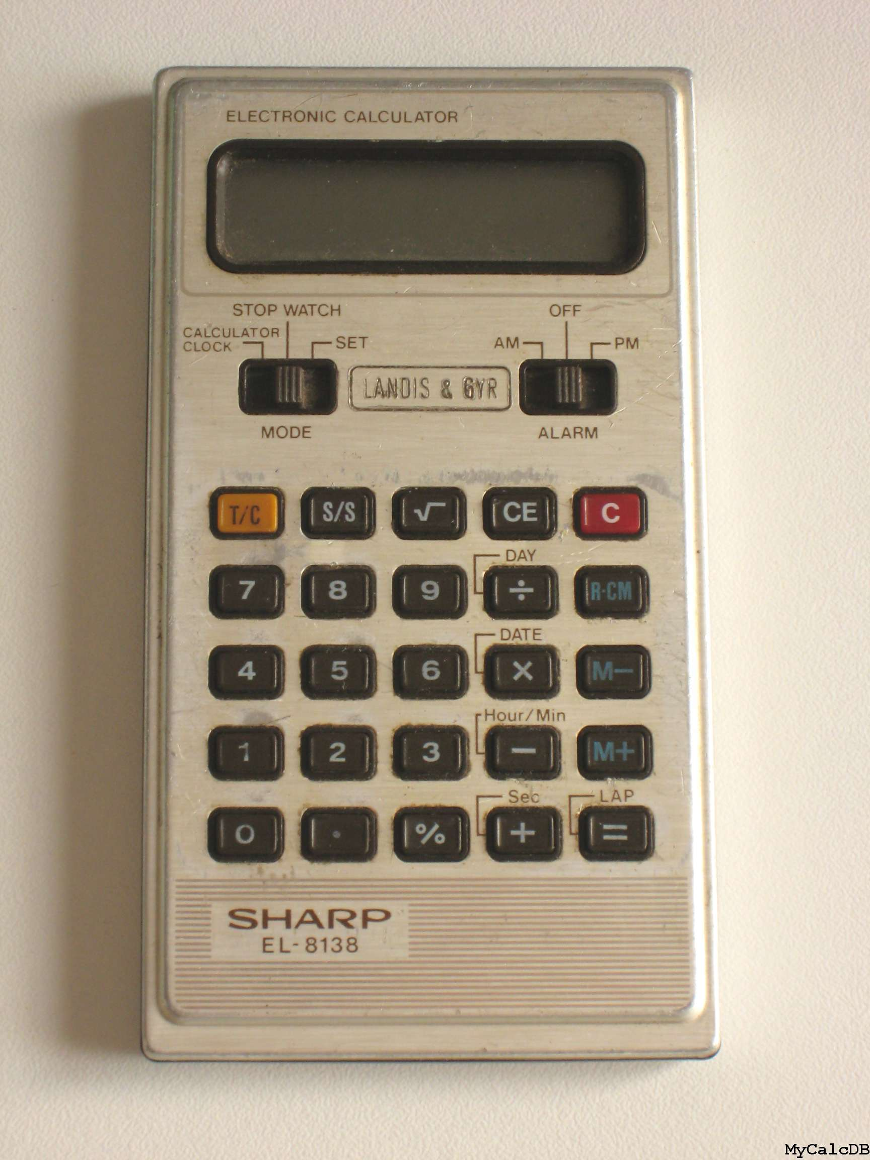 Sharp EL-8138