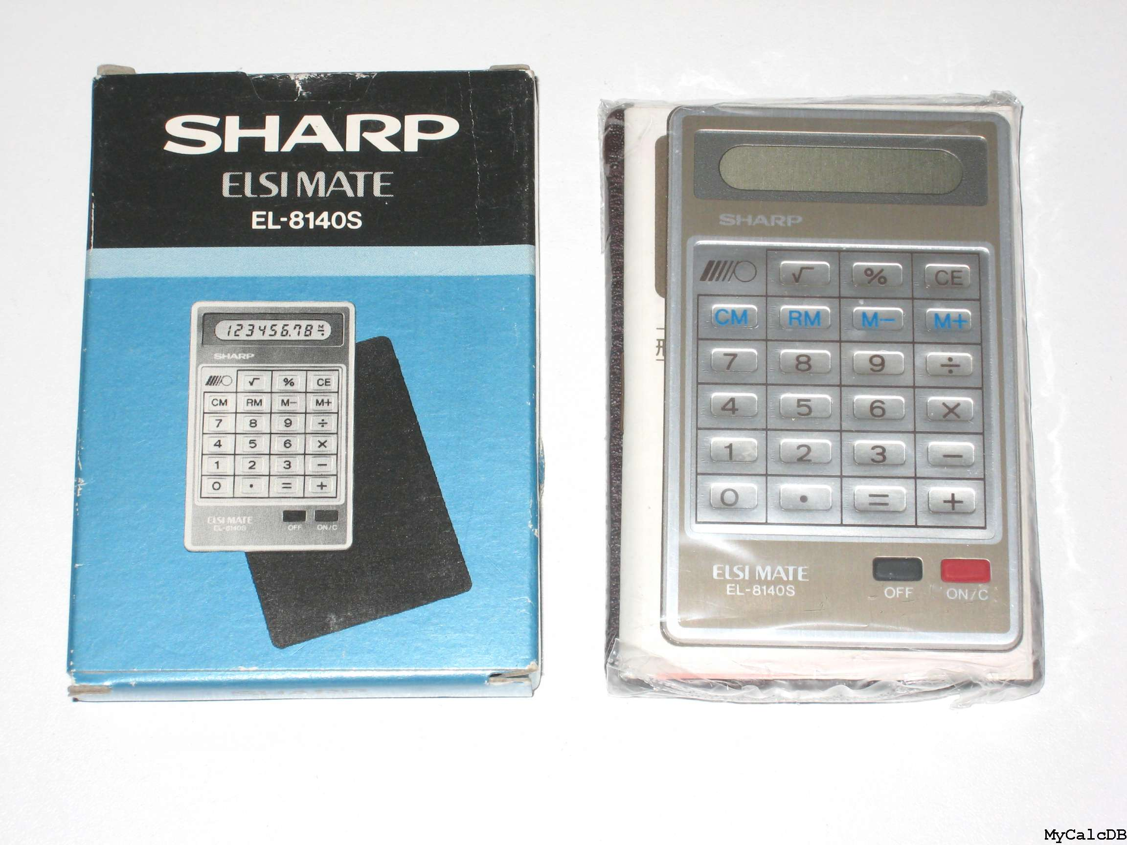 Sharp EL-8140S