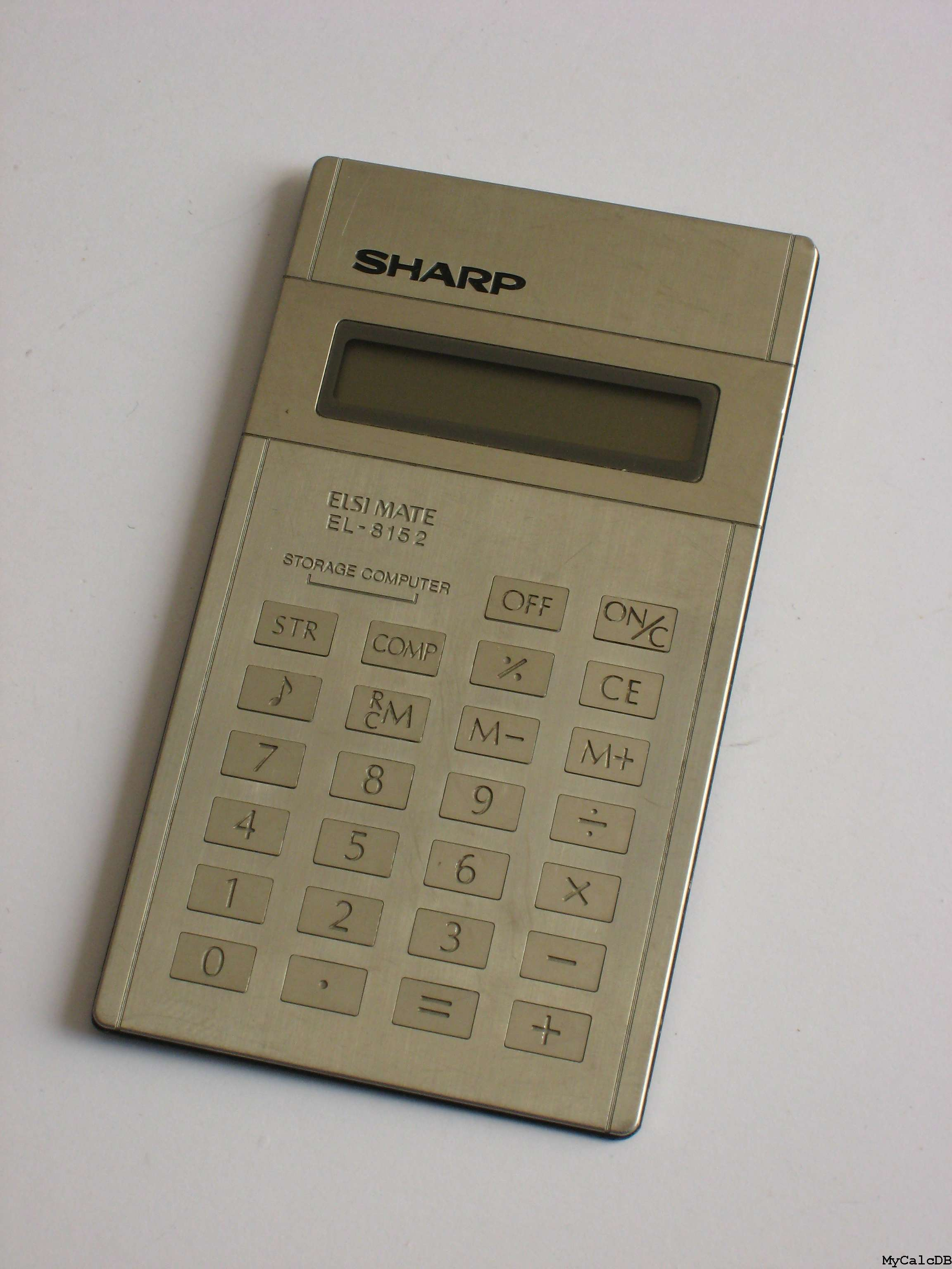 Sharp EL-8152