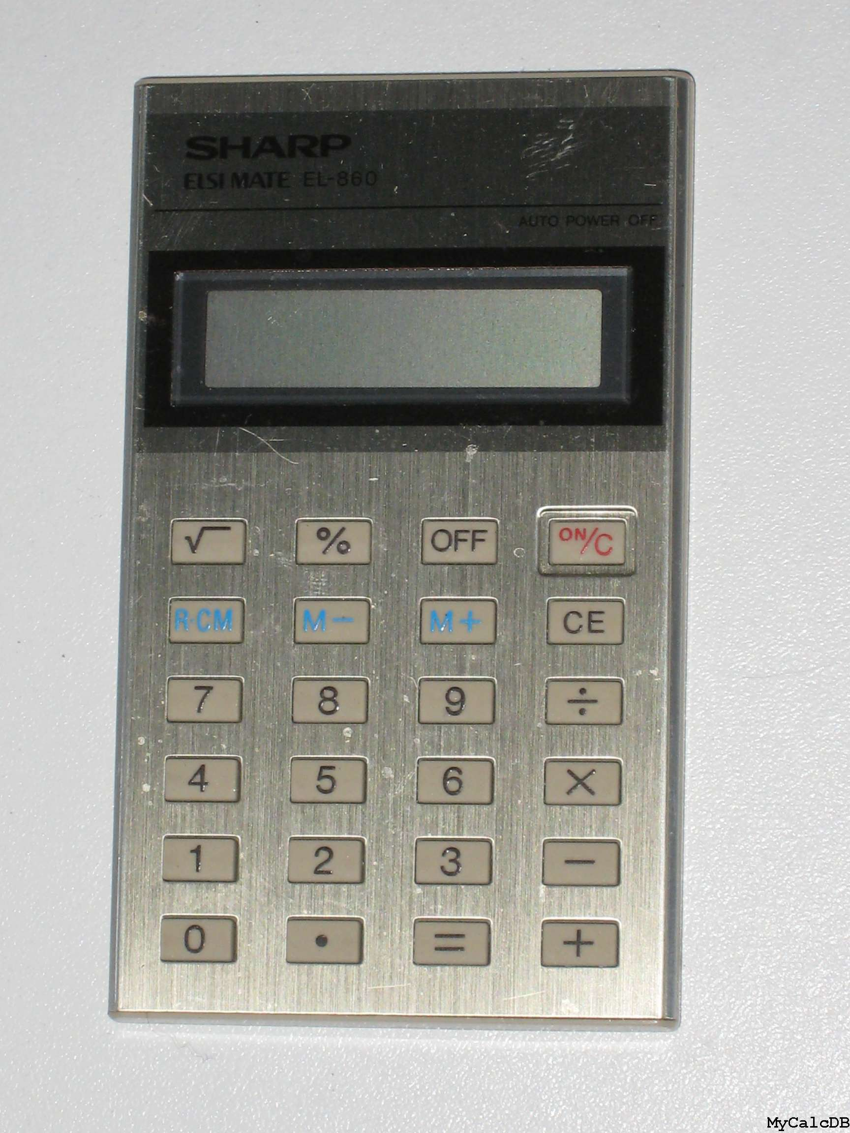Sharp EL-860