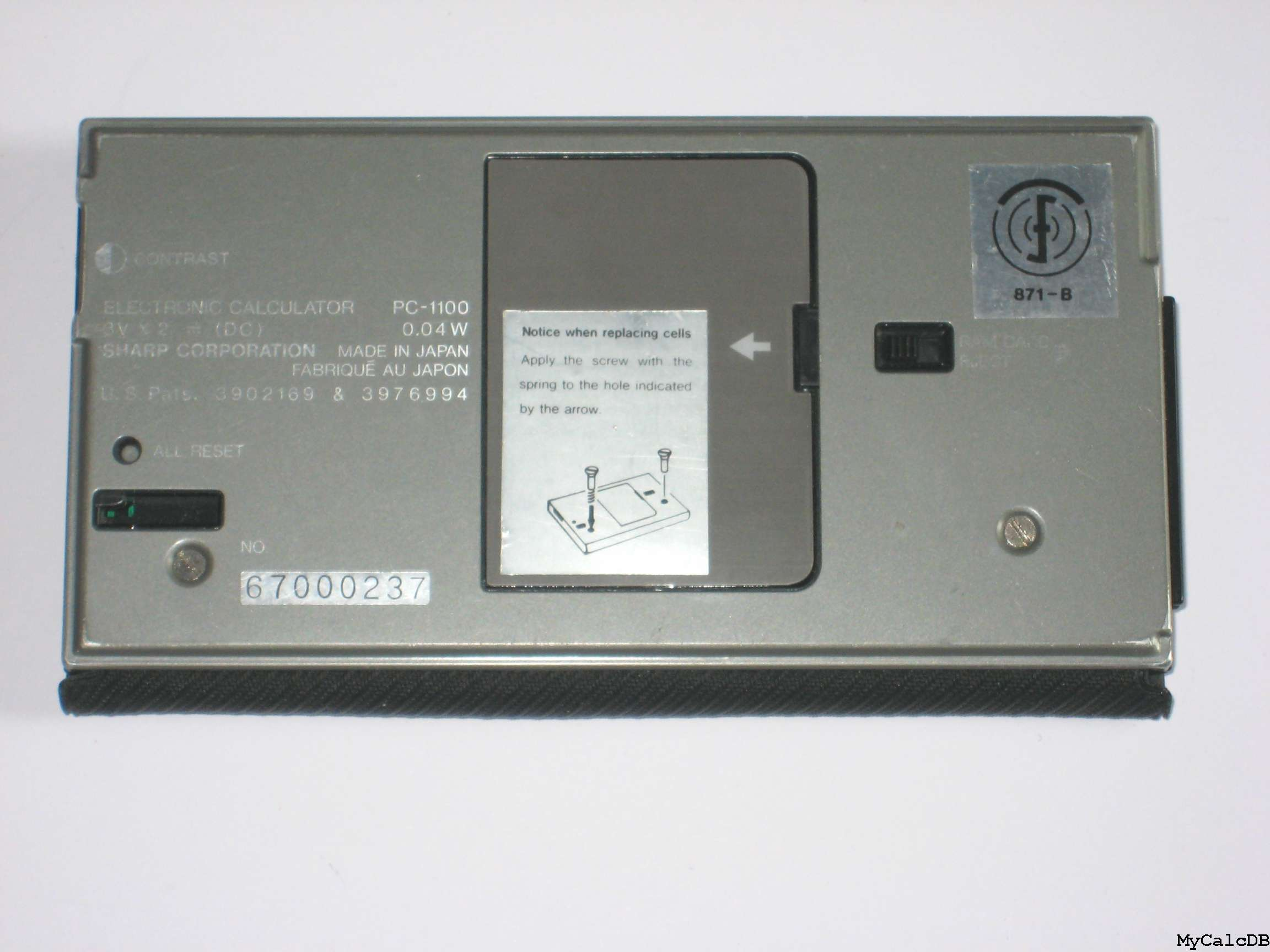 Sharp PC-1100