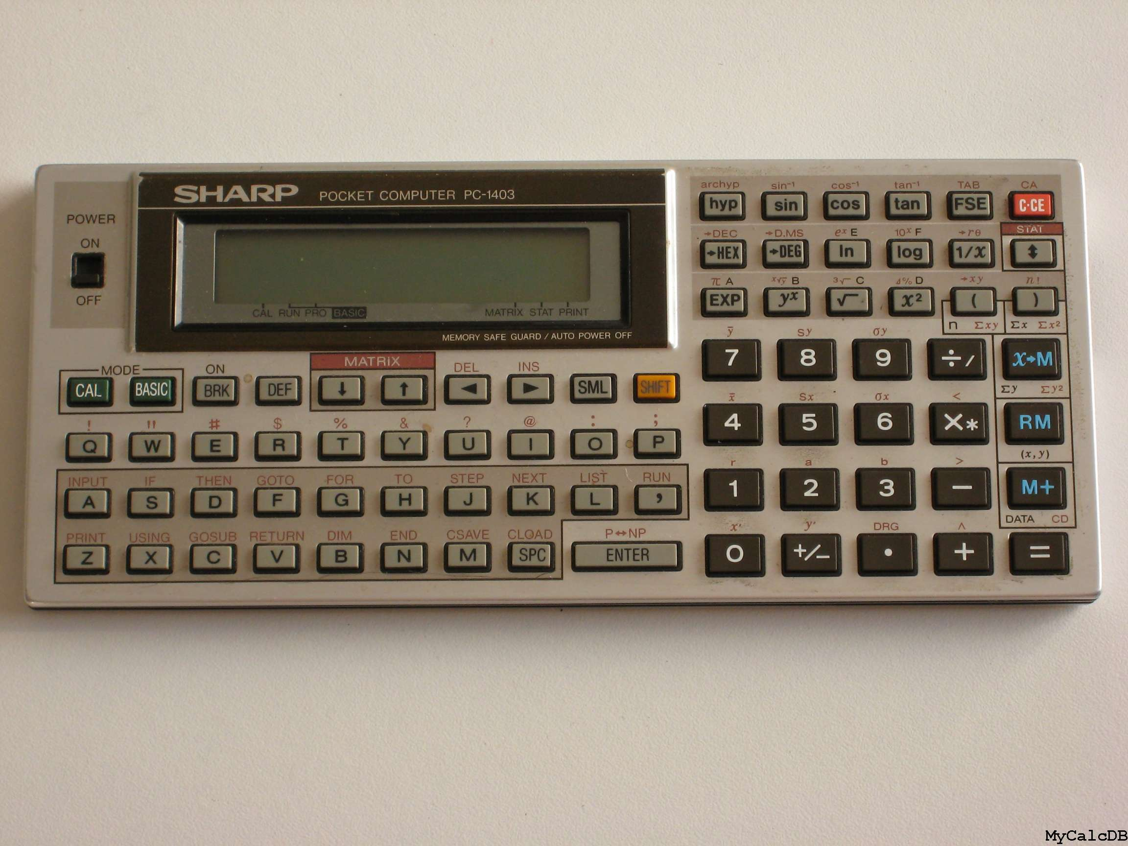 Sharp PC-1403