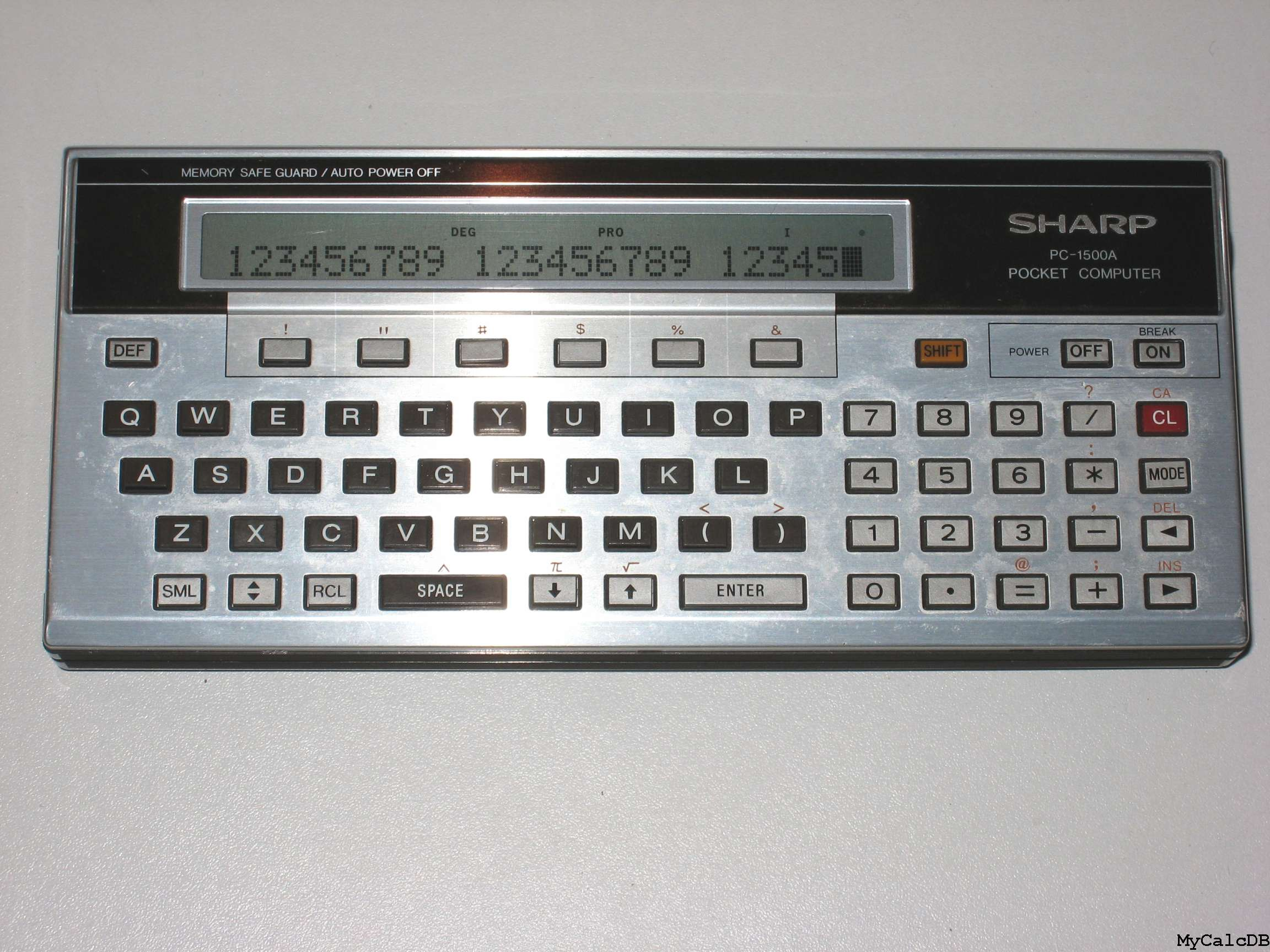 Sharp PC-1500A