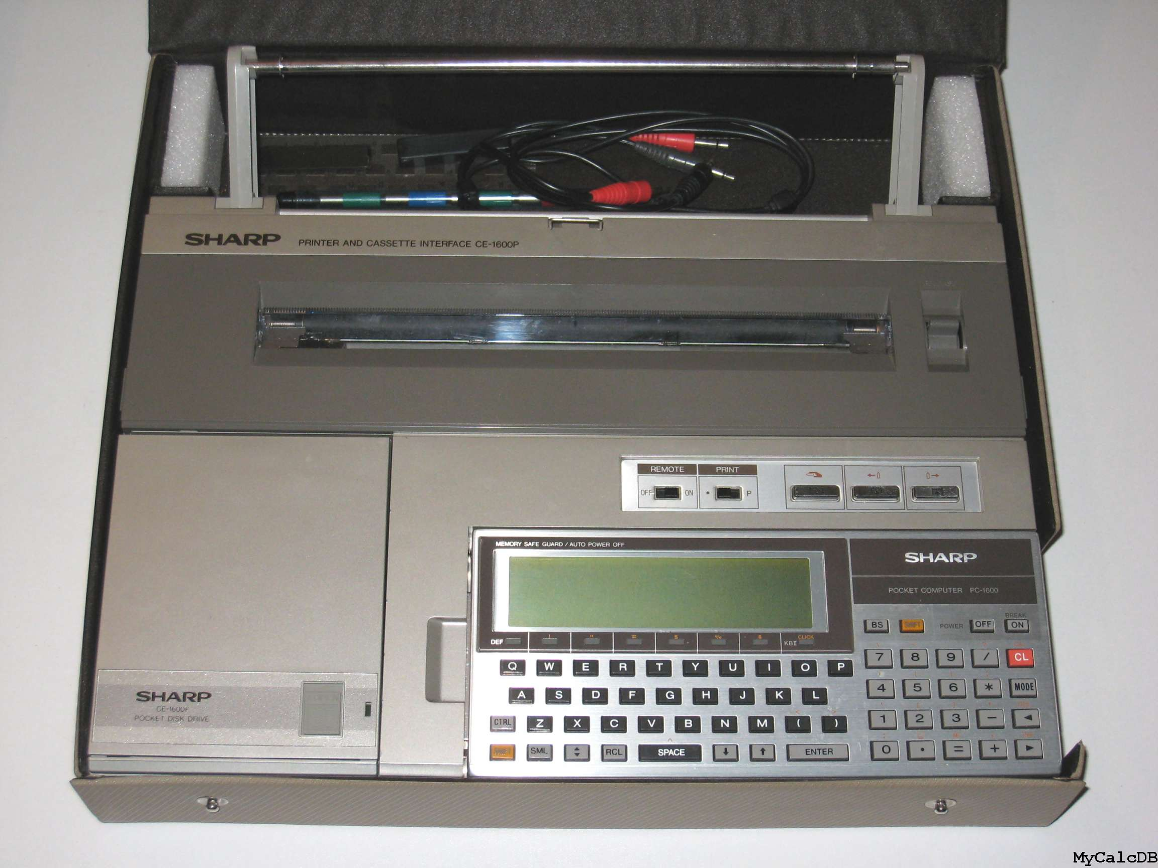 Sharp PC-1600