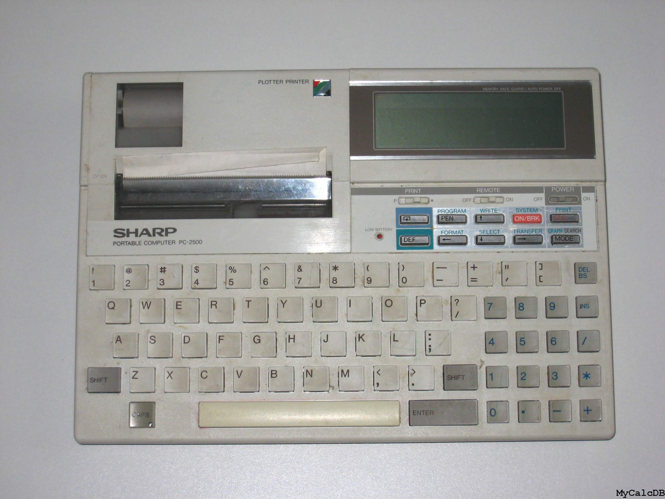 Sharp PC-2500