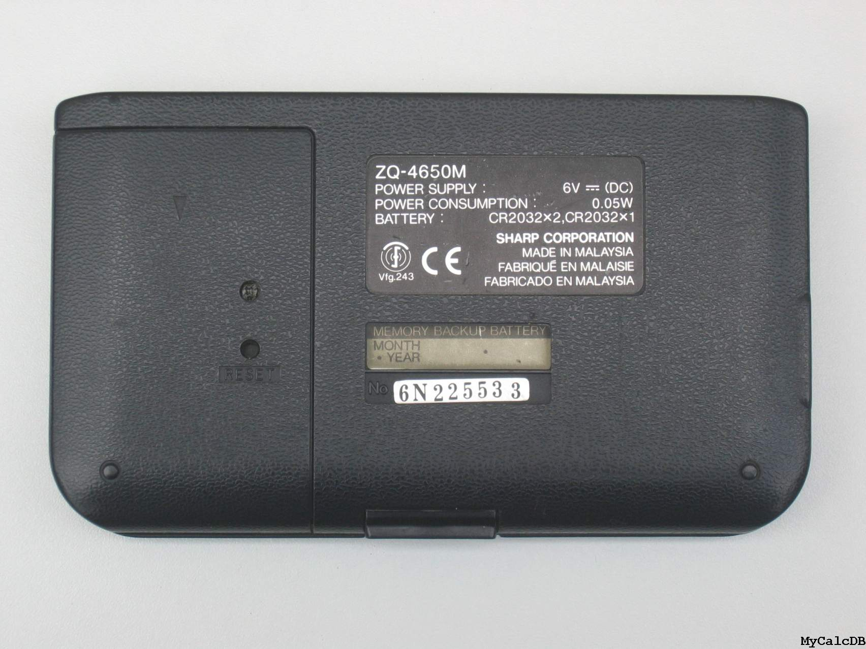Sharp ZQ-4650M