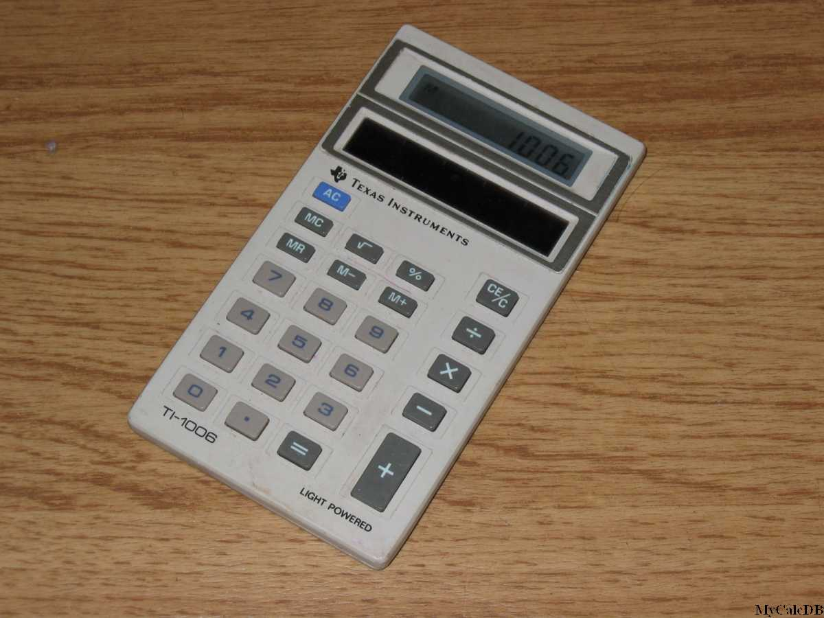 Texas Instruments TI-1006