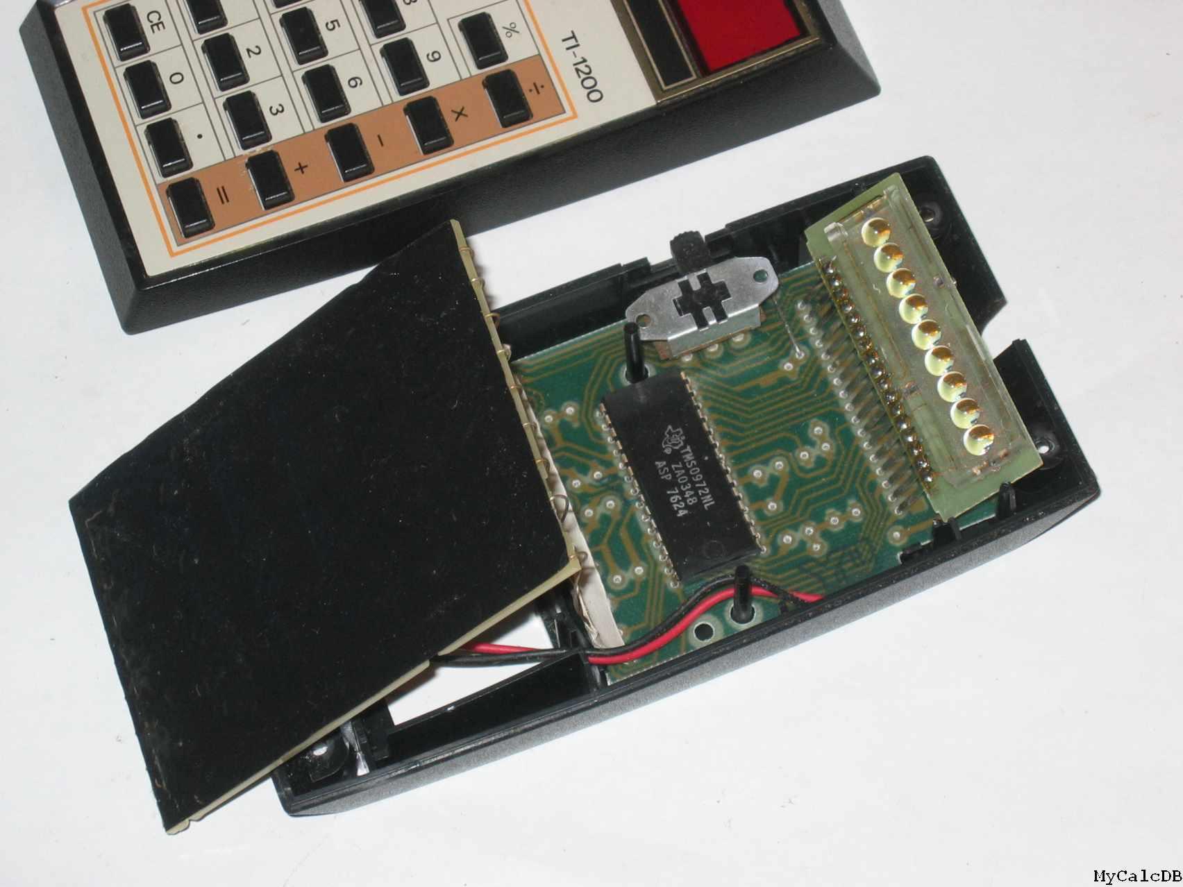 texas insturument t1-1200 calculator