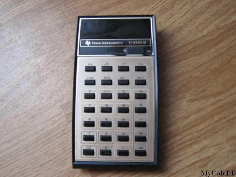 Texas Instruments TI-2550 III