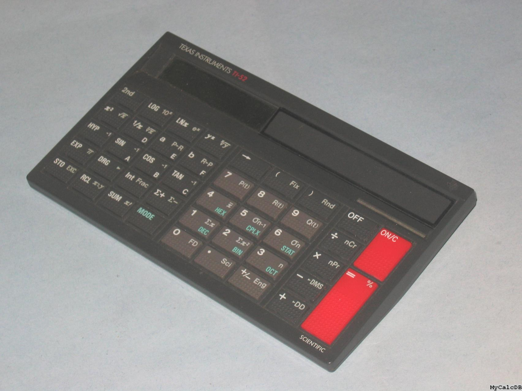Texas Instruments TI-52
