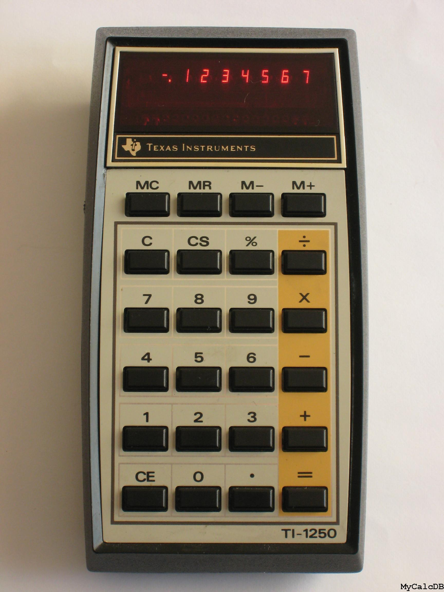 Texas Instruments TI-1250