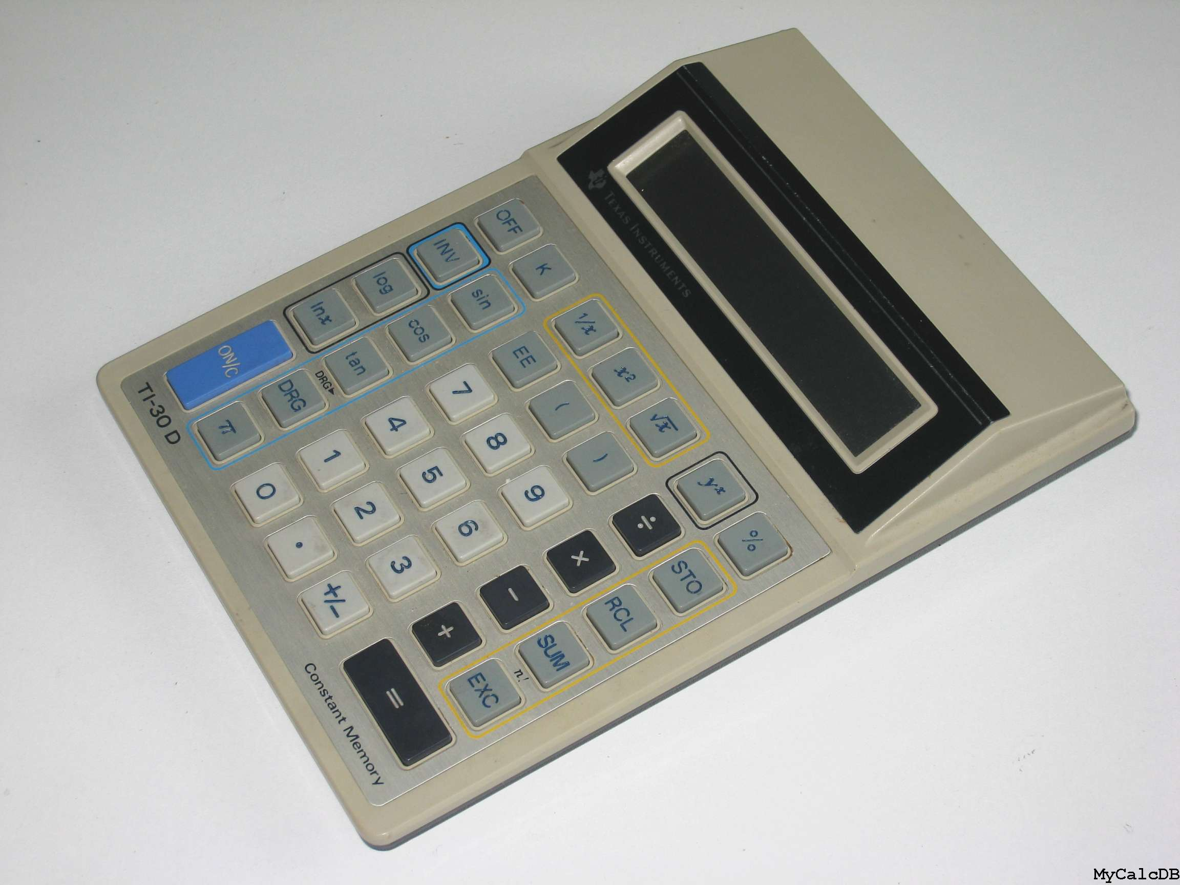 Texas Instruments TI-30 D