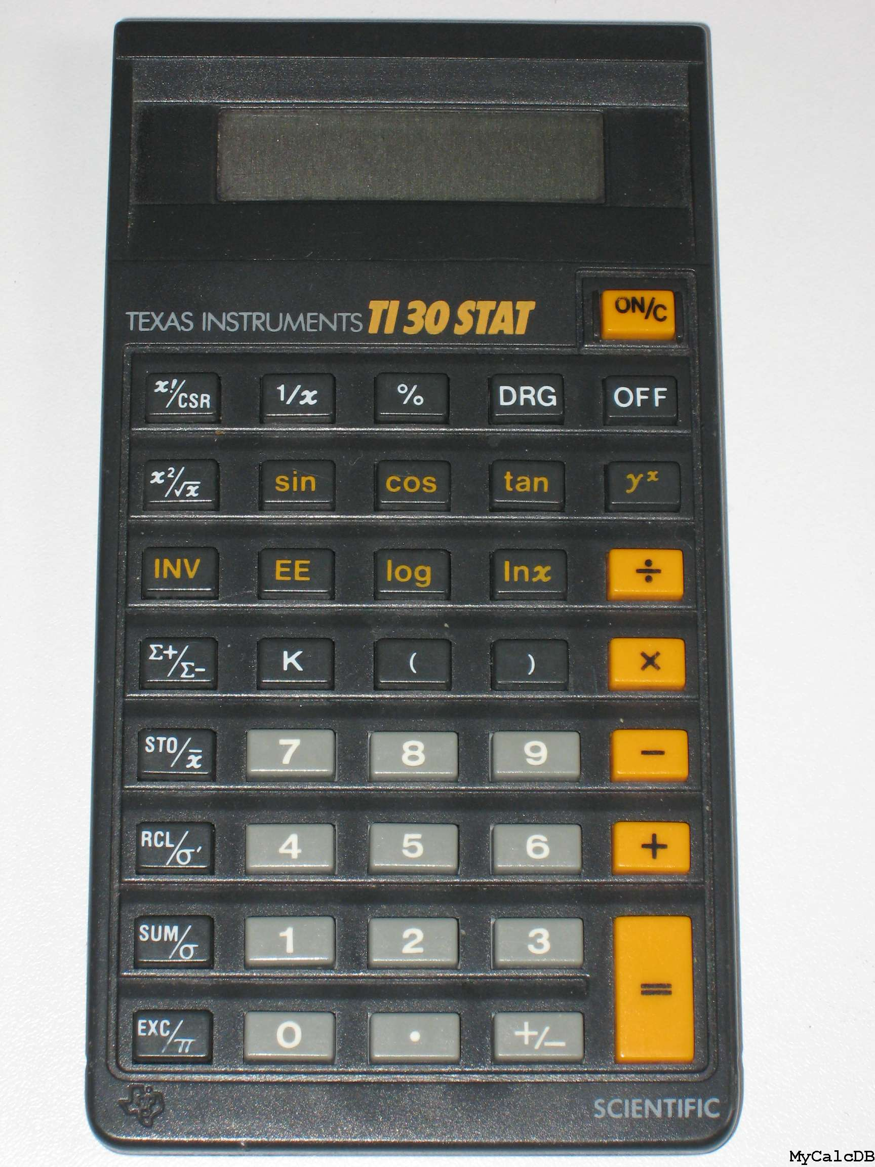 Texas Instruments TI 30 STAT