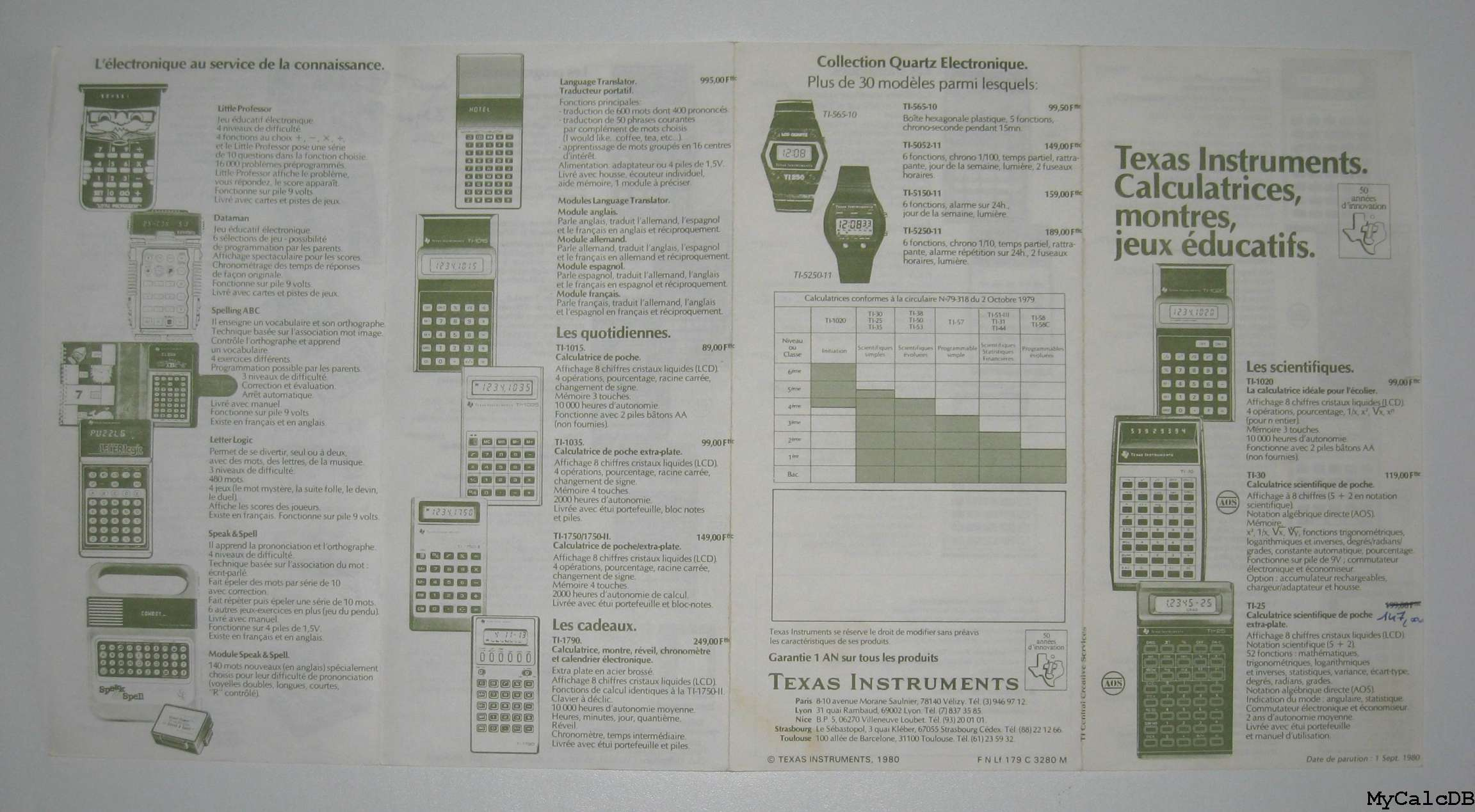 Texas Instruments TI Programmable 57
