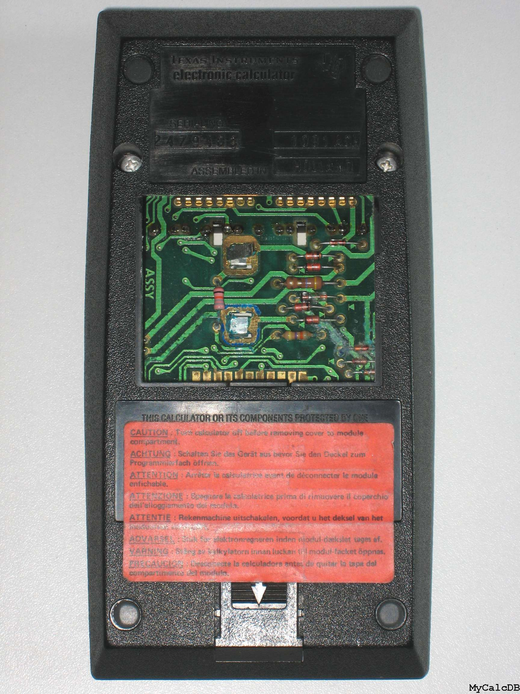 Texas Instruments TI Programmable 58C