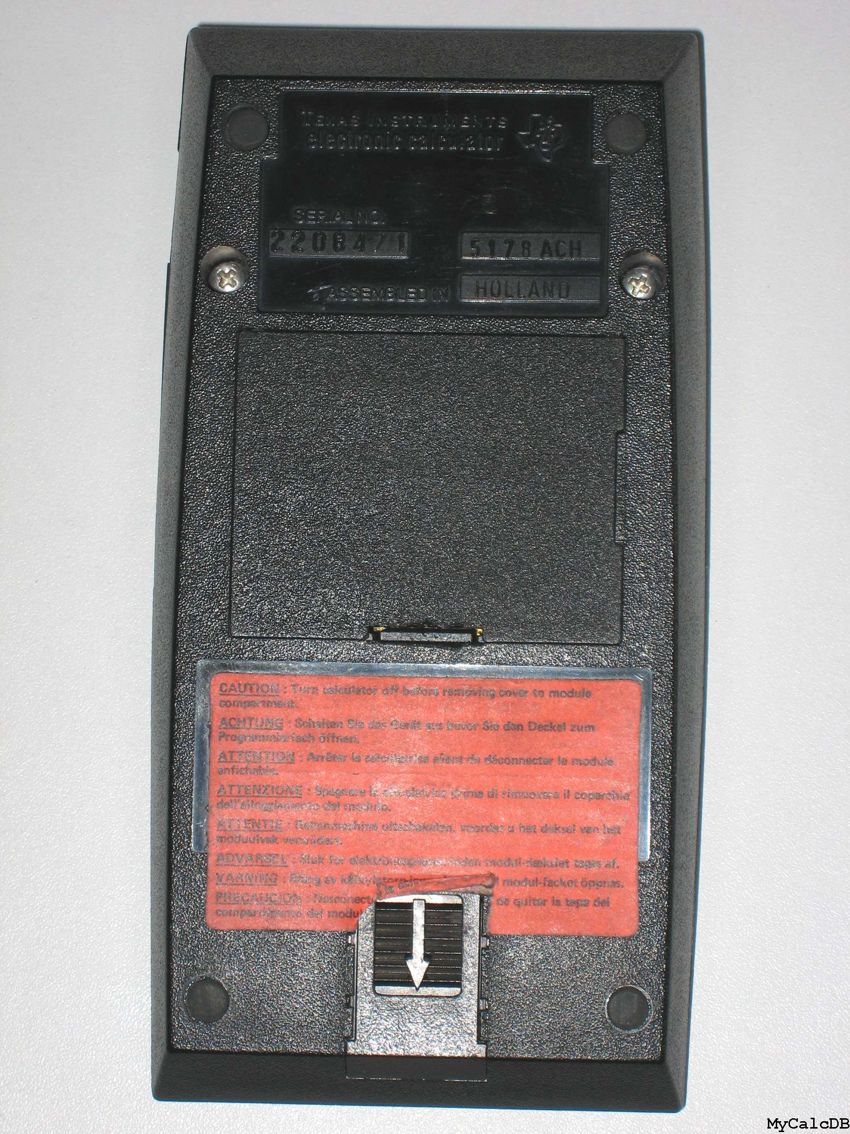 Texas Instruments TI Programmable 59