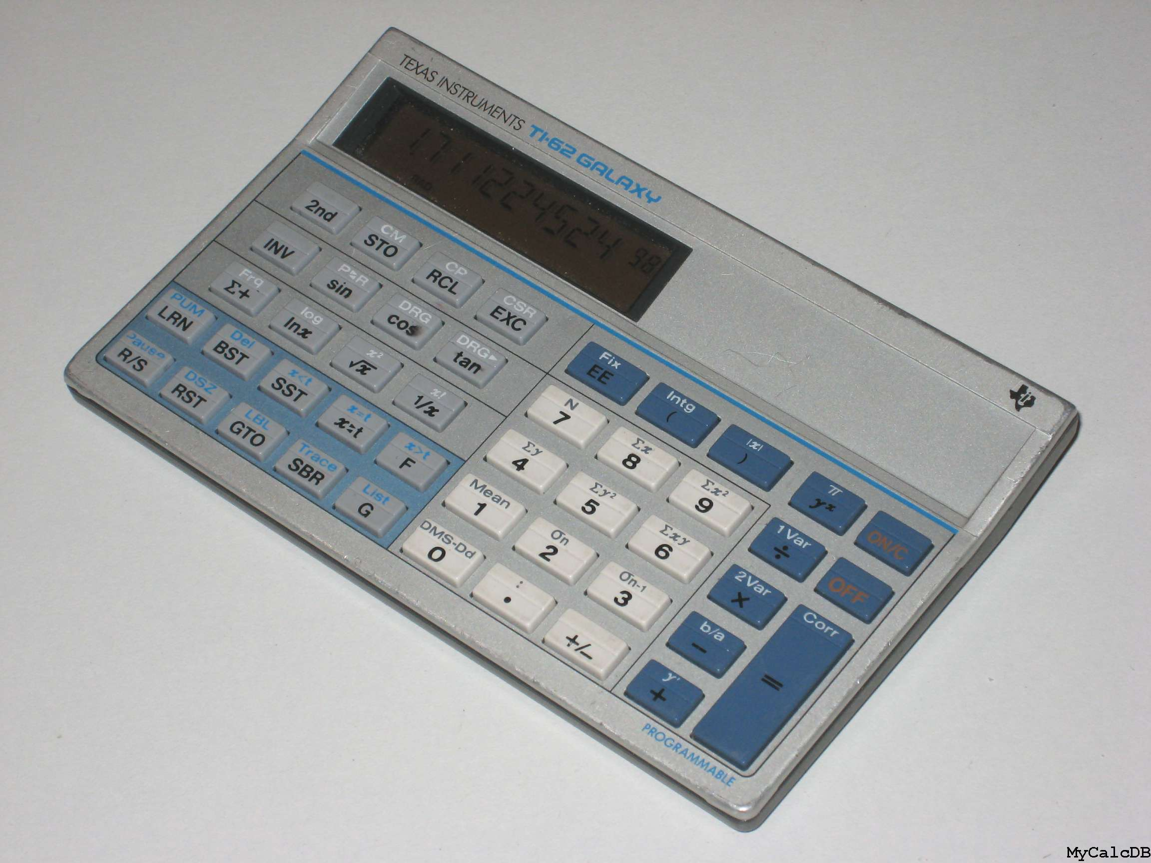 Texas Instruments TI-62 GALAXY
