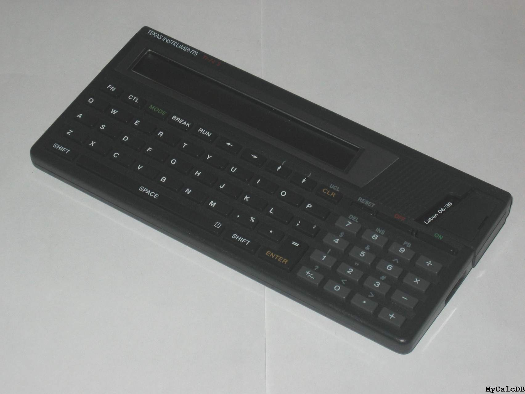 Texas Instruments TI-74 S