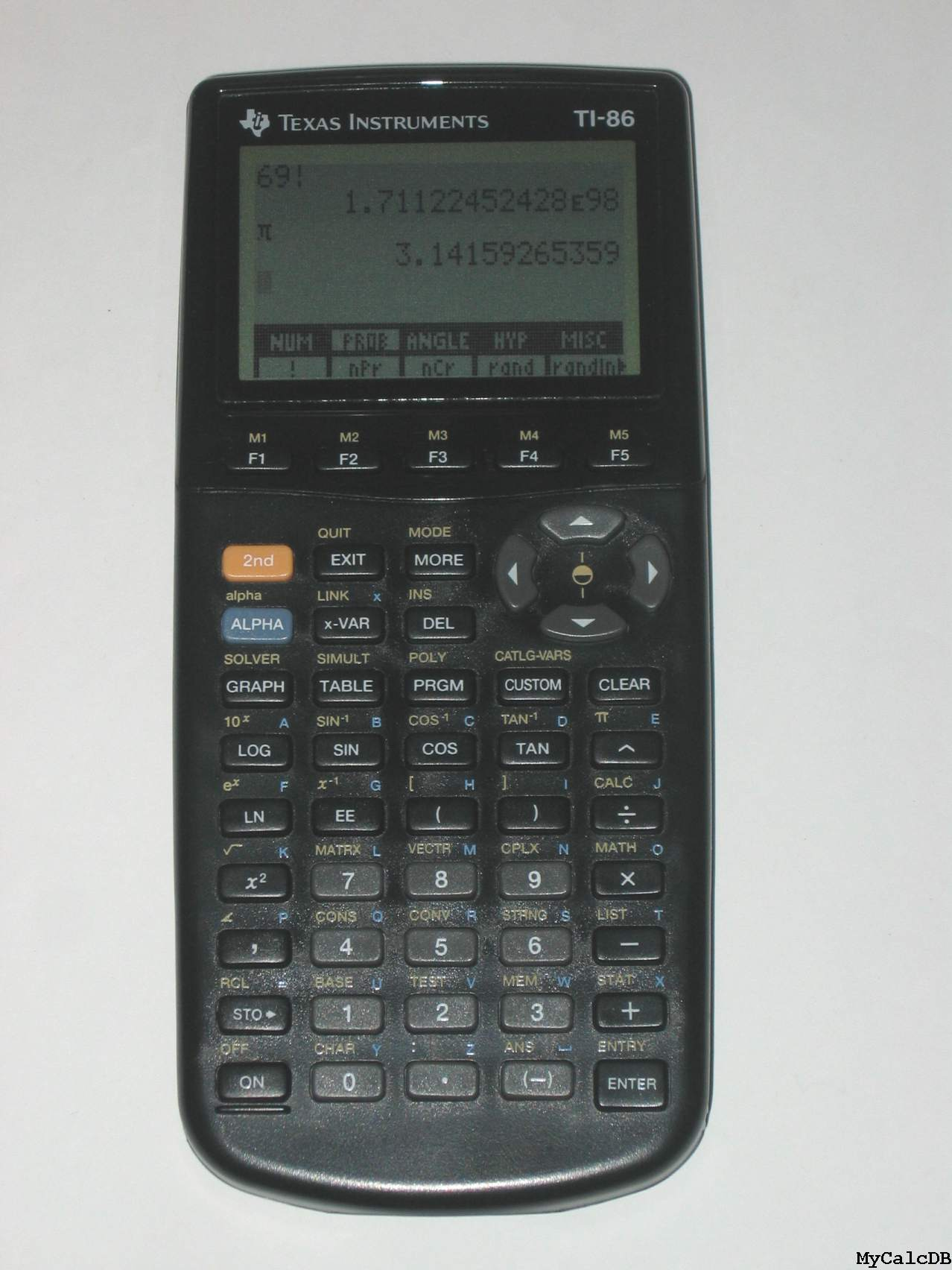 Texas Instruments TI-86