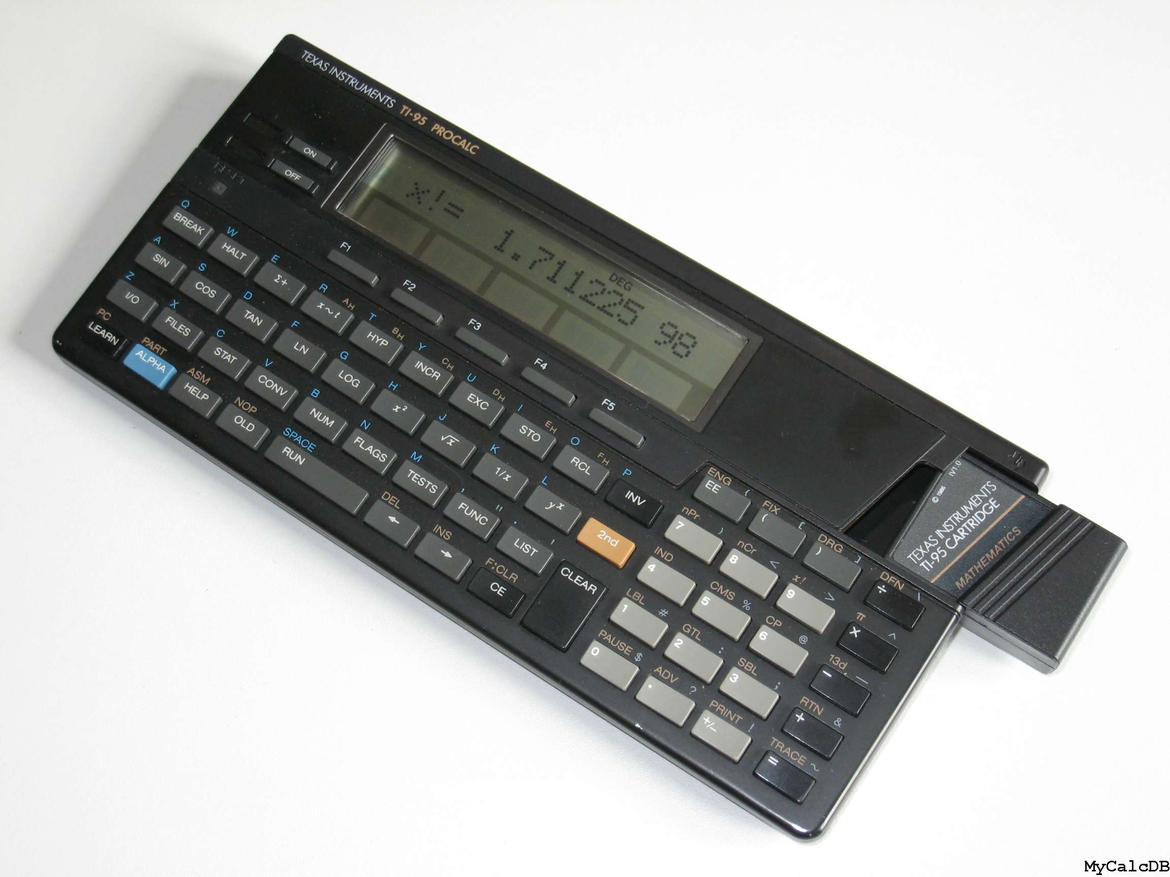 Texas Instruments TI-95 PROCAL