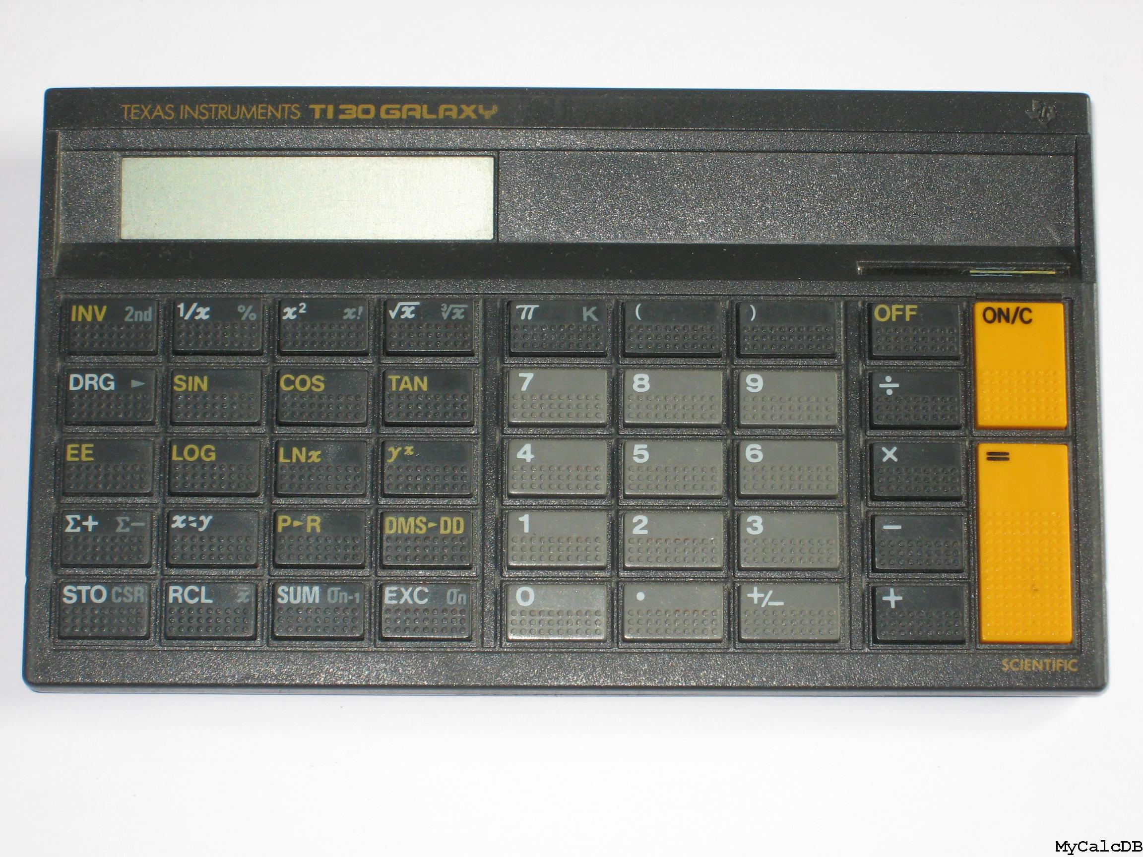 Texas Instruments TI 30 GALAXY