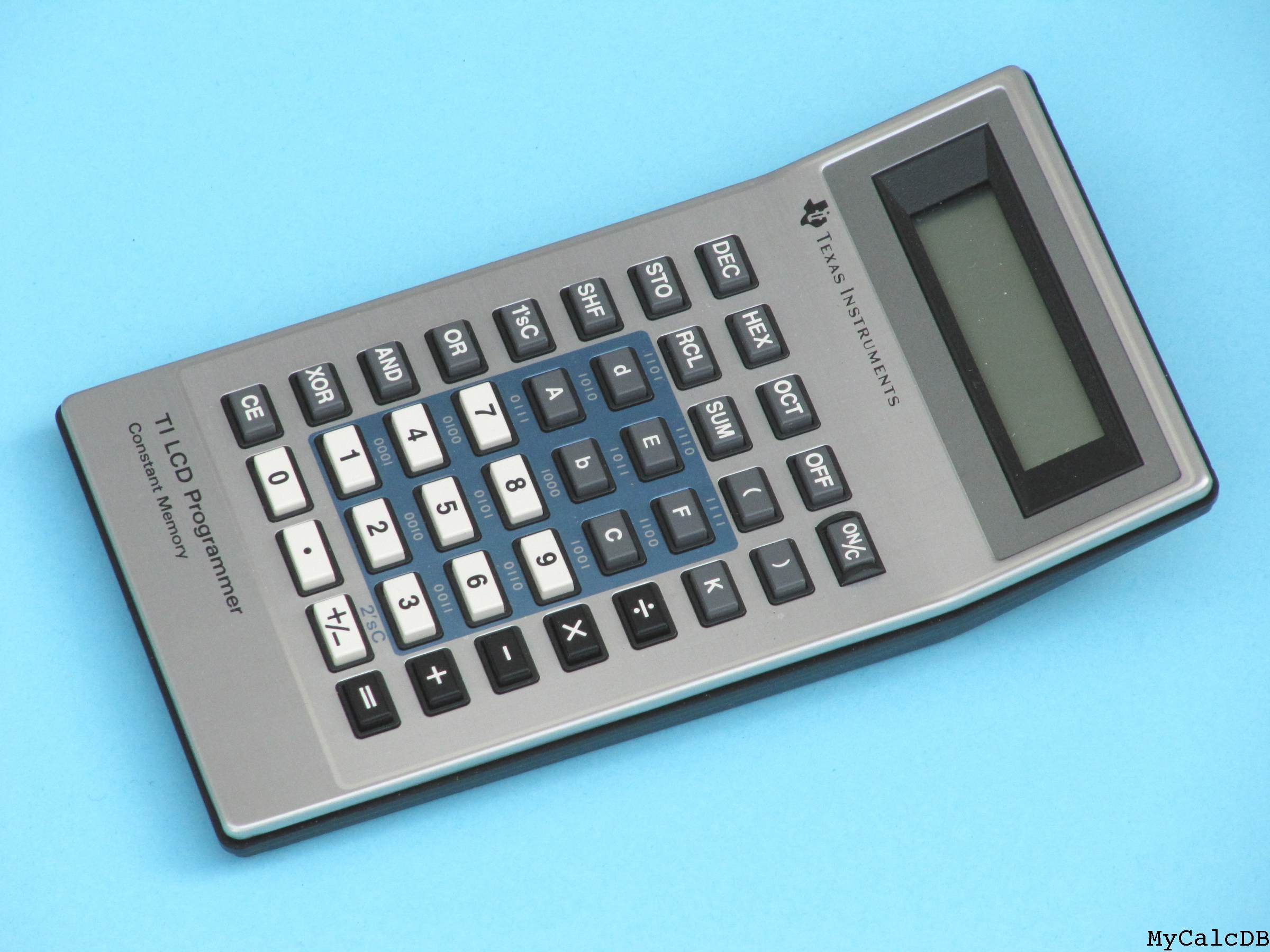 Texas Instruments TI LCD Programmer