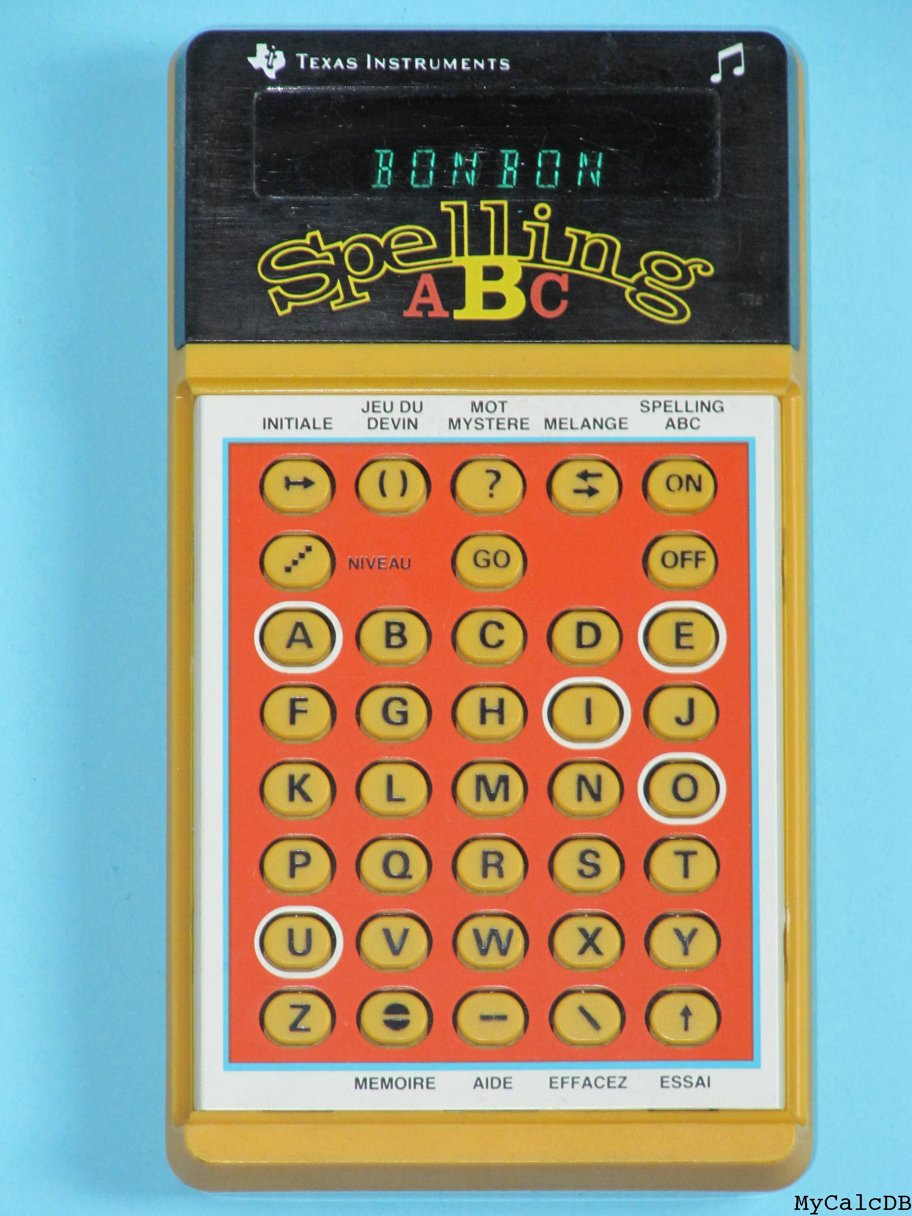 Texas Instruments Spelling ABC