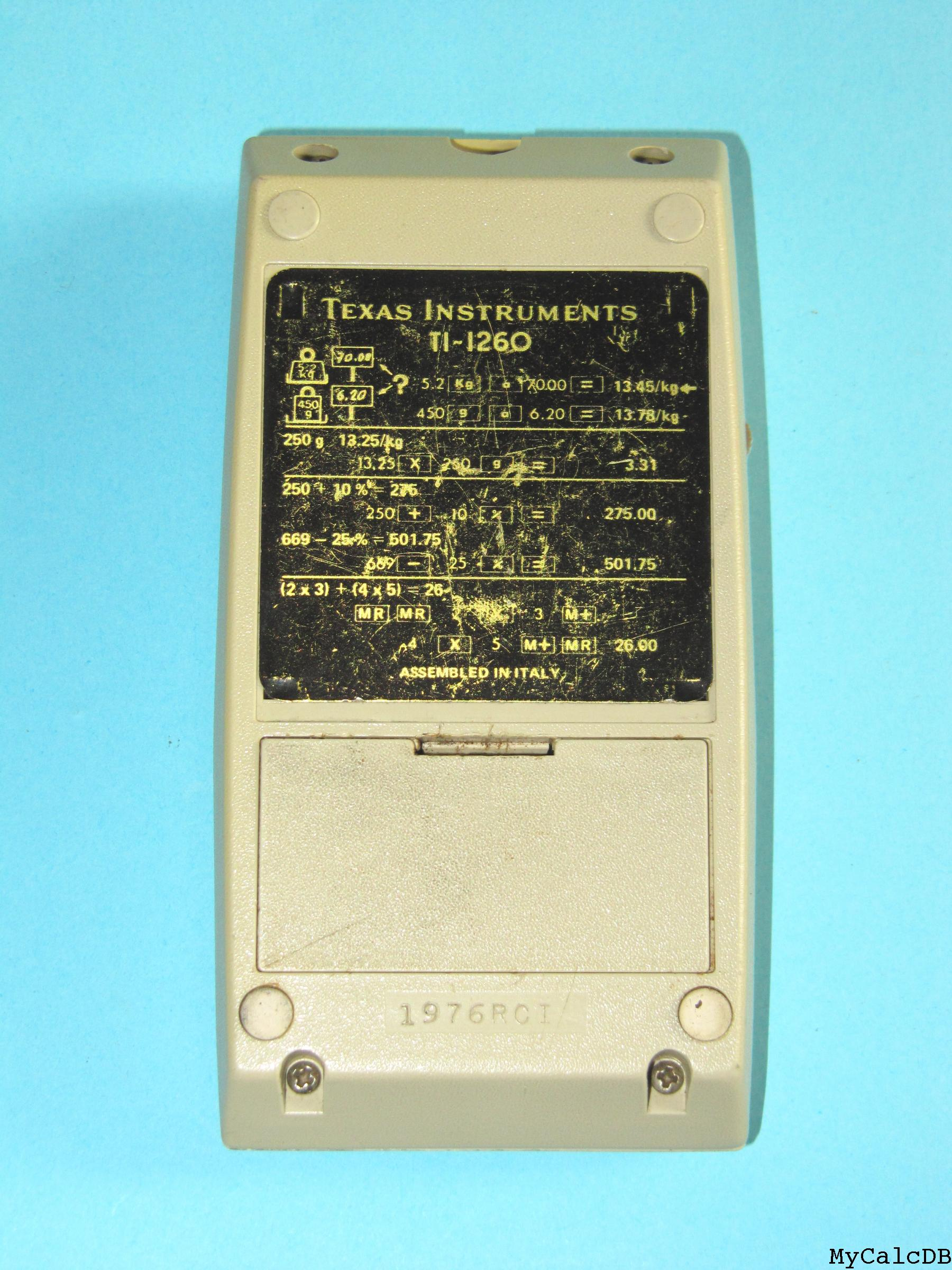 Texas Instruments TI-1260
